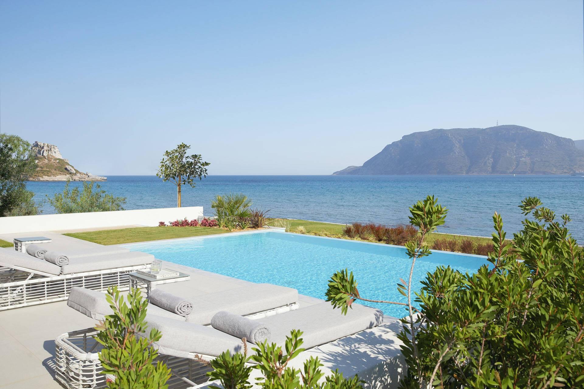 Ikos Aria Kos Grece Deluxe Two Bedroom Bungalow Suite Private Pool