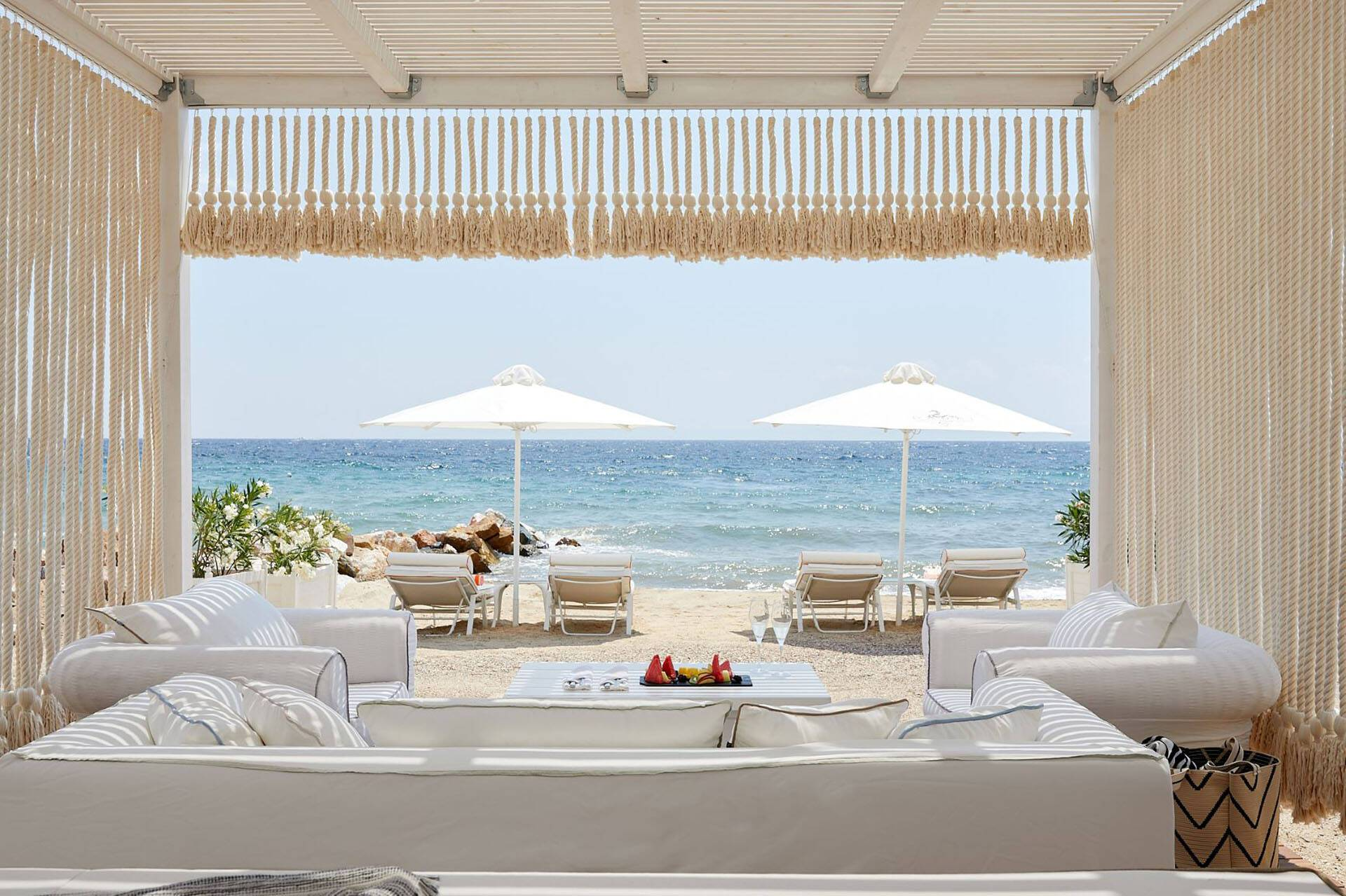 Danai Thessalonique Grece Beach Cabana
