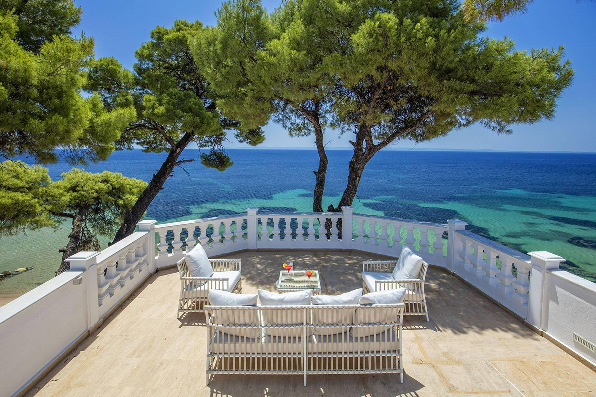 Danai Thessalonique Grece Mandarin Villa Terrasse