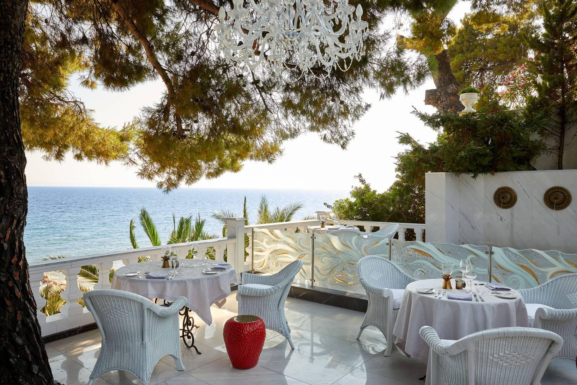 Danai Thessalonique Grece Terrasse