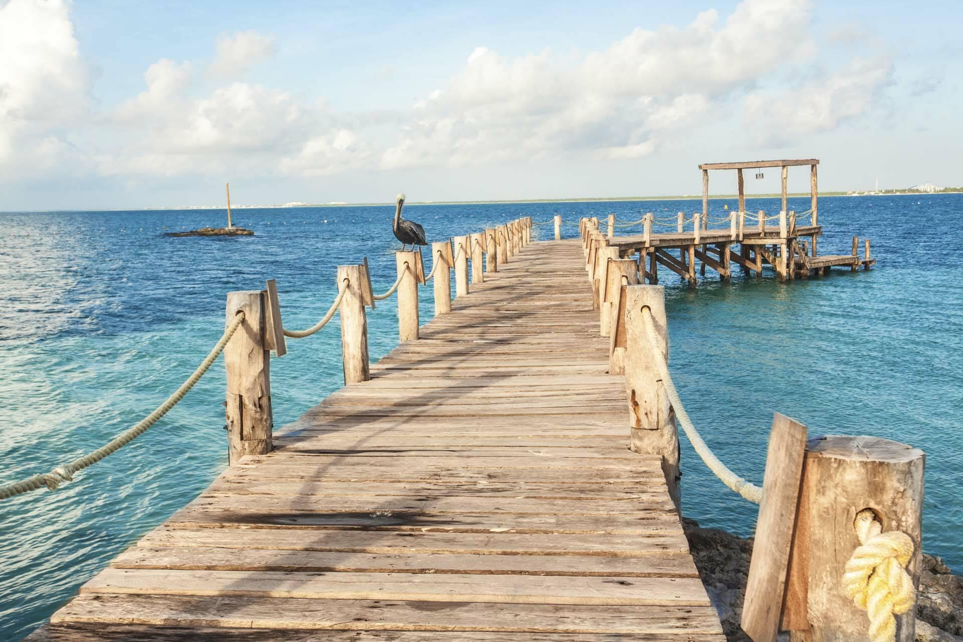 Nizuc Cancun Mexique Pier
