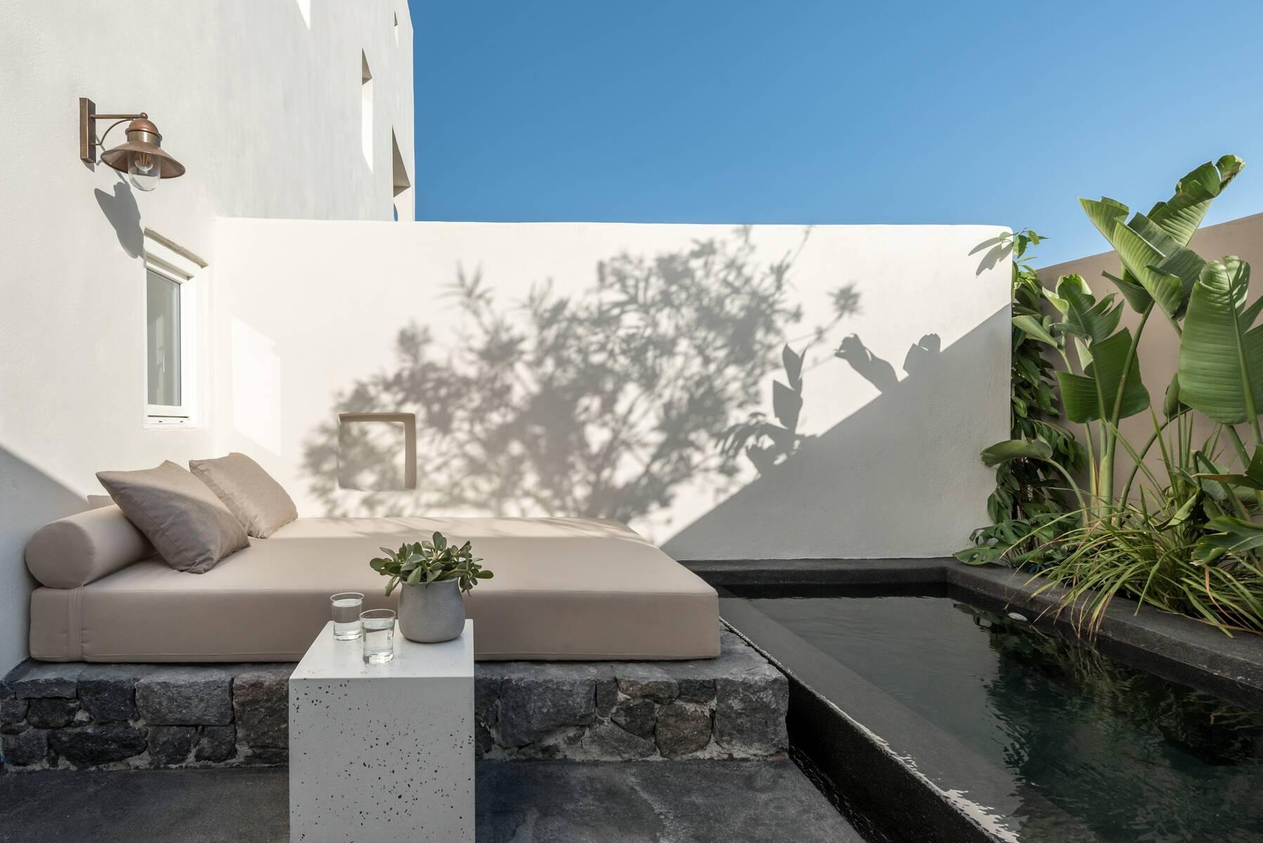Santorin Istoria Chambre Suite Recit Terrasse