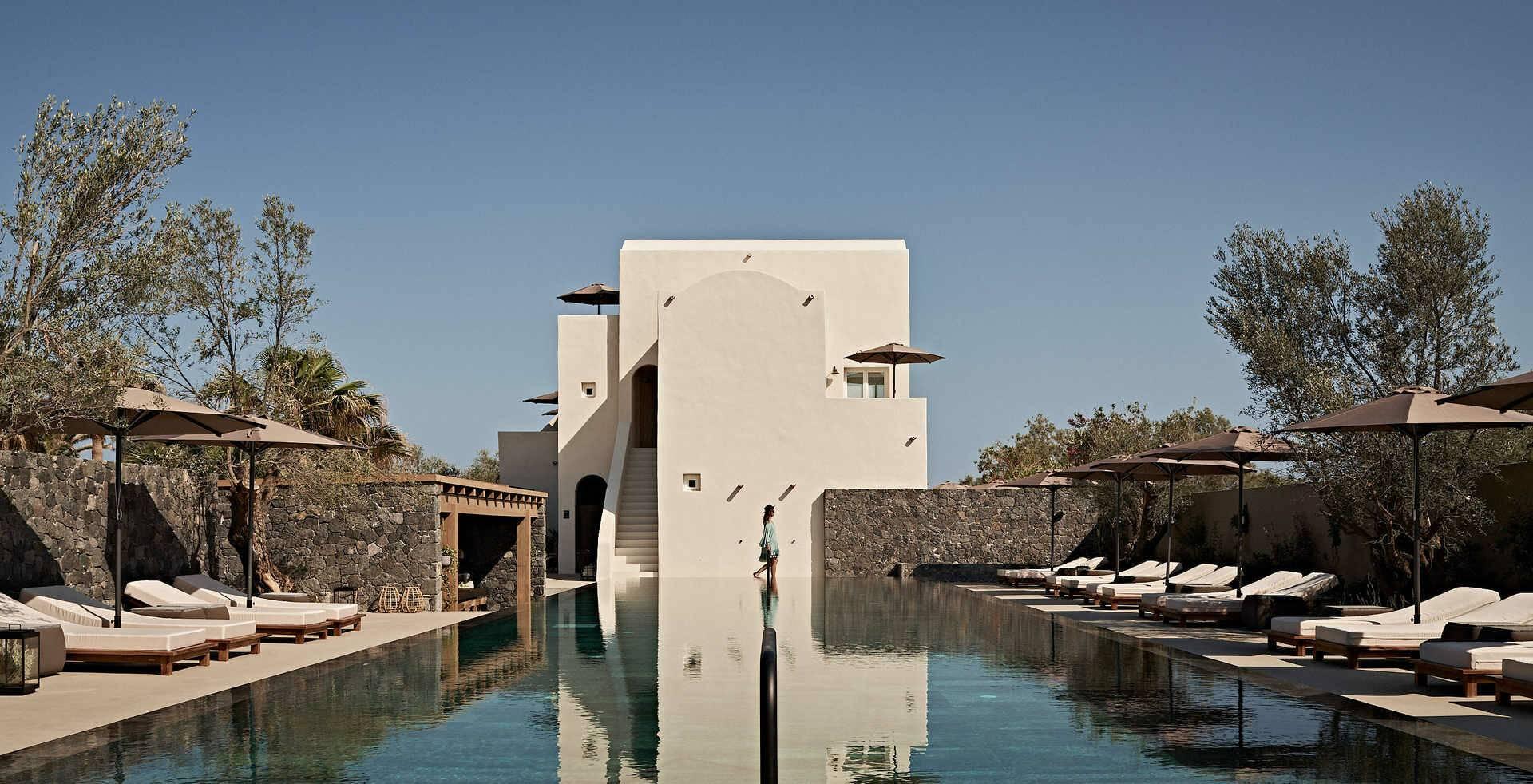 Santorin Istoria Infinity Pool