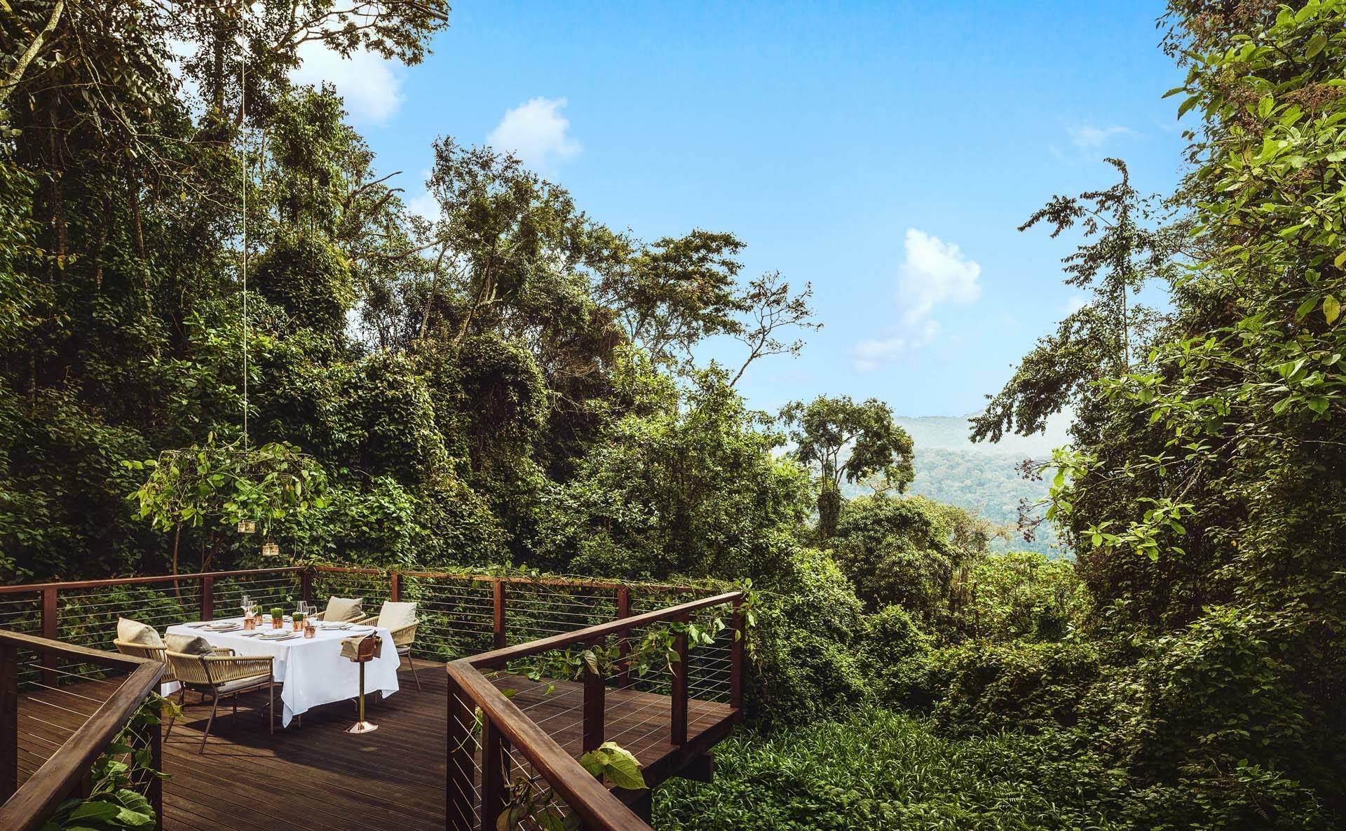 Rwanda OneandOnly NyungweHouse Diner Prive