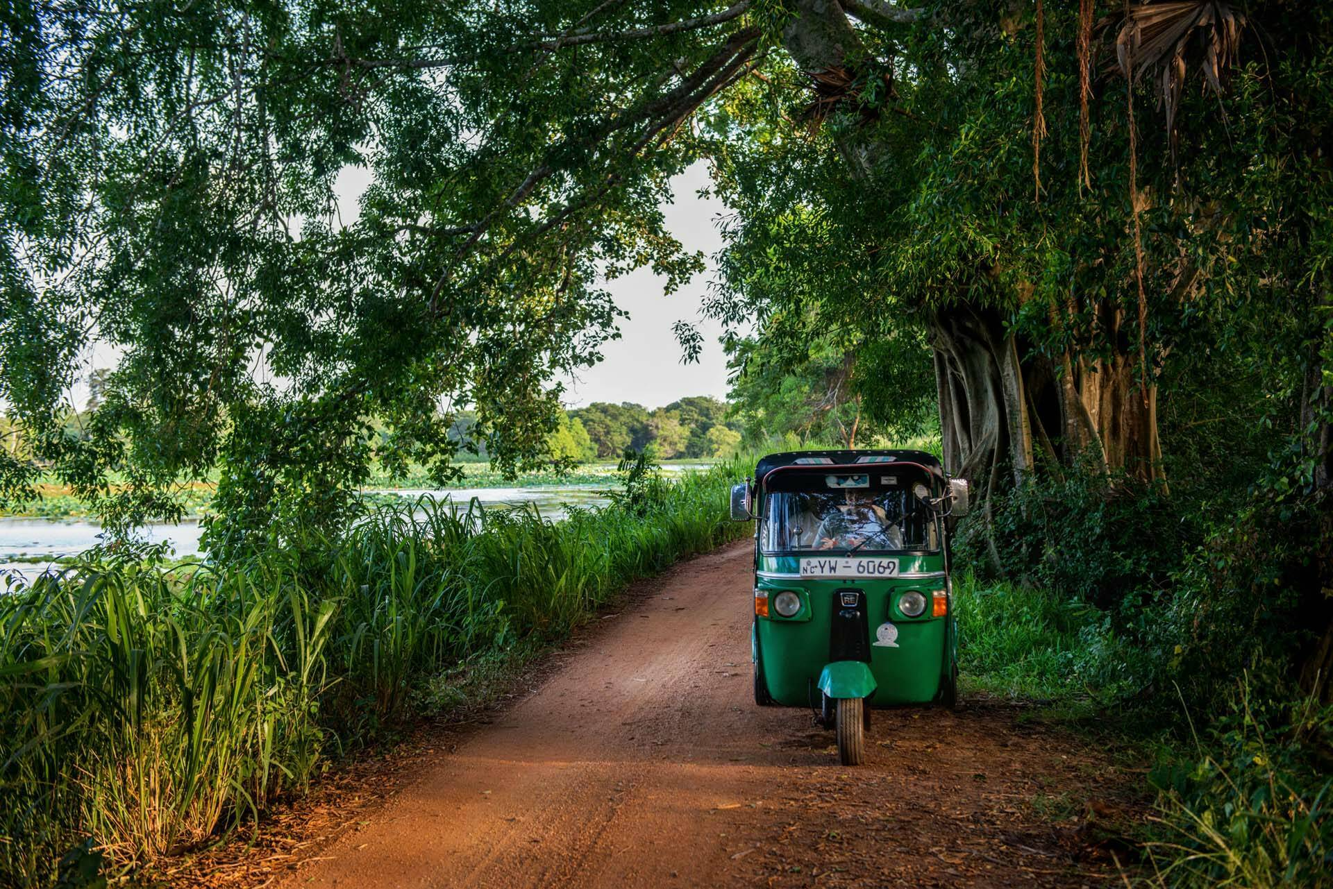 Sri Lanka Ulagalla Walawwa UGA TukTuk