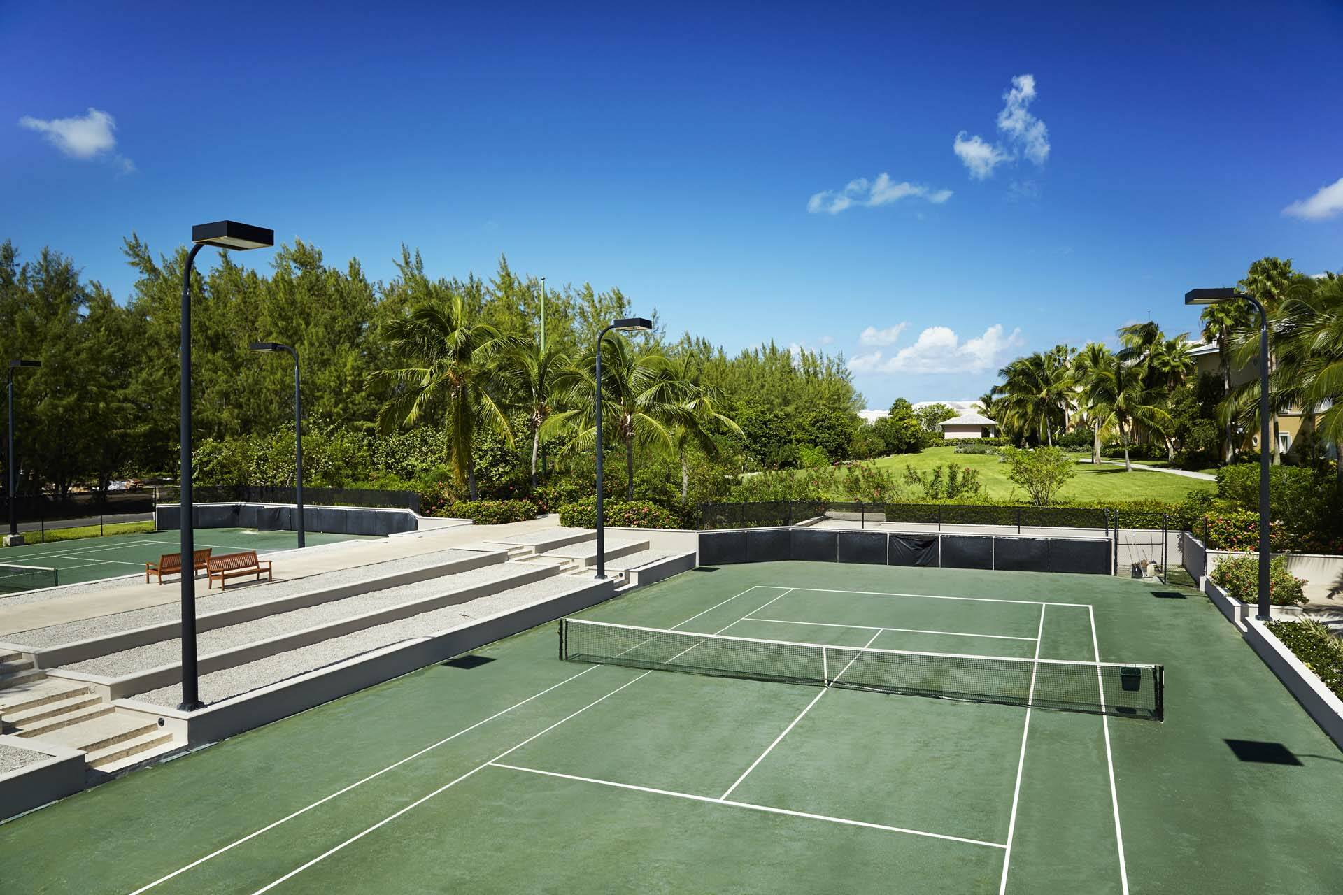 Sandals Emerald Bay Exuma Bahamas Tennis