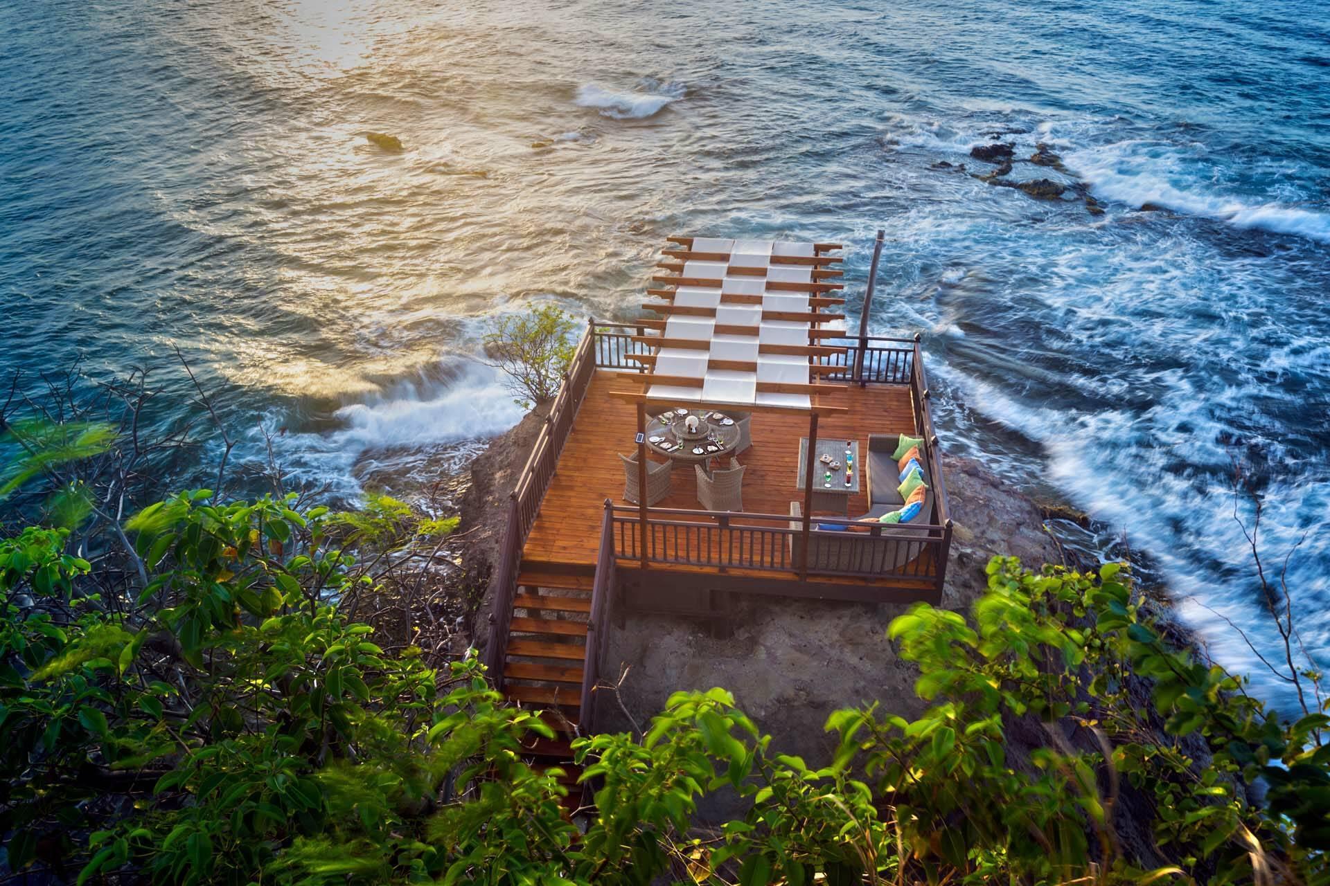 Cap Maison Ocean Restaurant Sainte Lucie