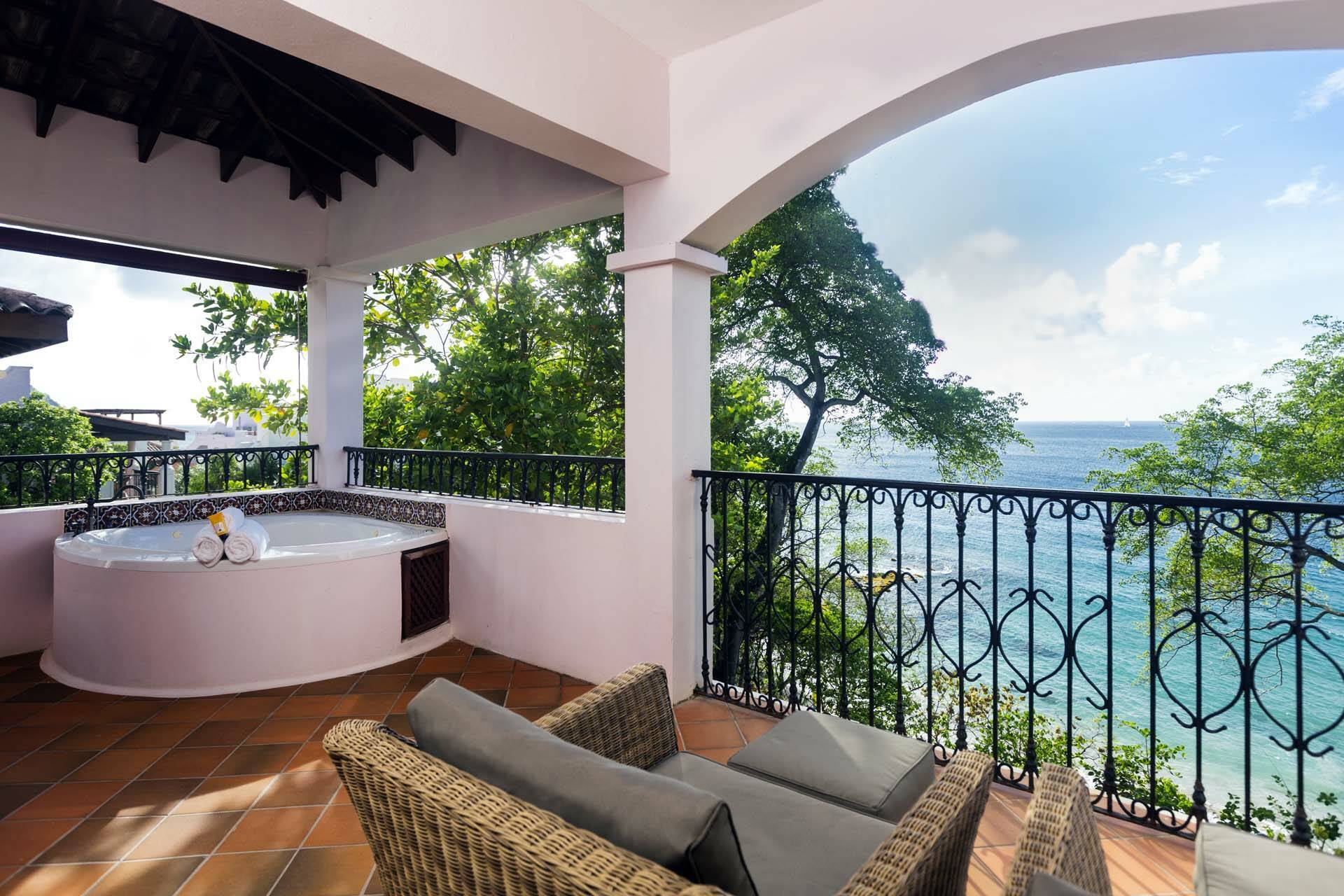 Cap Maison Ocean View Villa Suite Jacuzzi Sainte Lucie