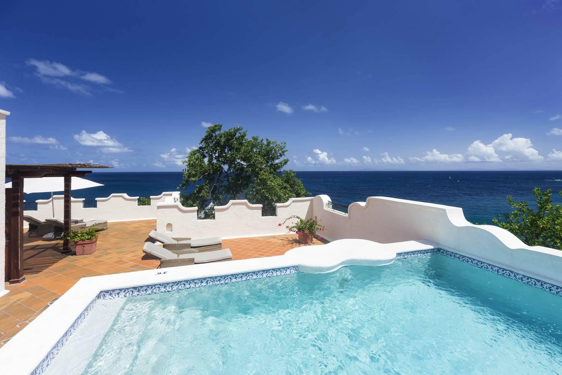 Cap Maison Ocean View Villa Suite Piscine Terrasse Sainte Lucie