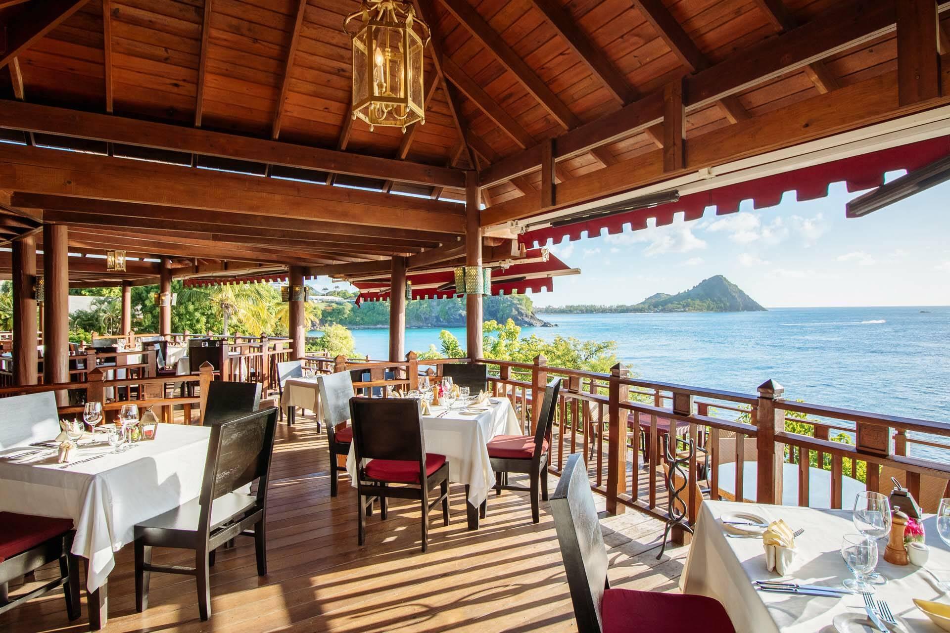 Cap Maison Restaurant Cliff Mishael Fabien Sainte Lucie