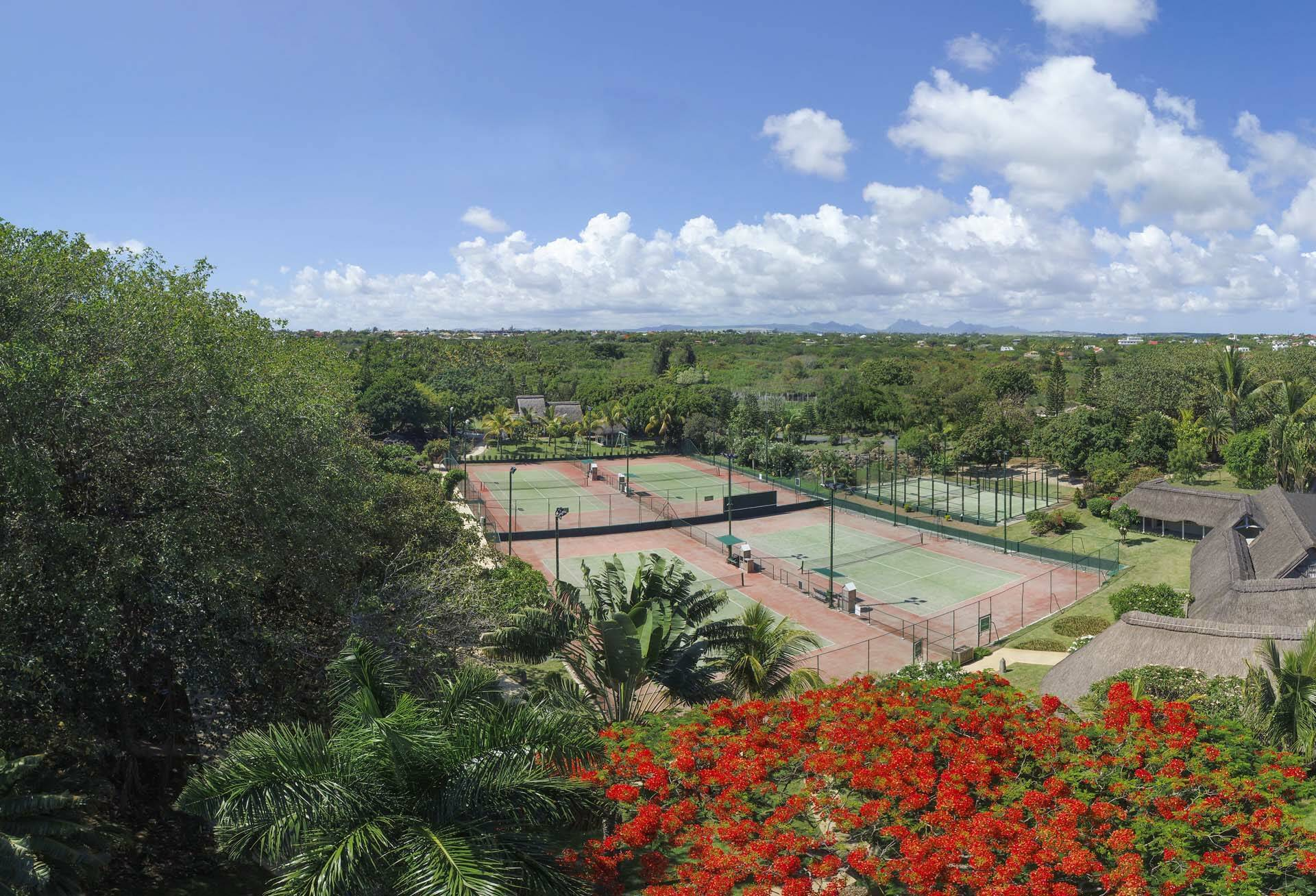 Ile Maurice Lux Grand Gaube Activites Court De Tennis