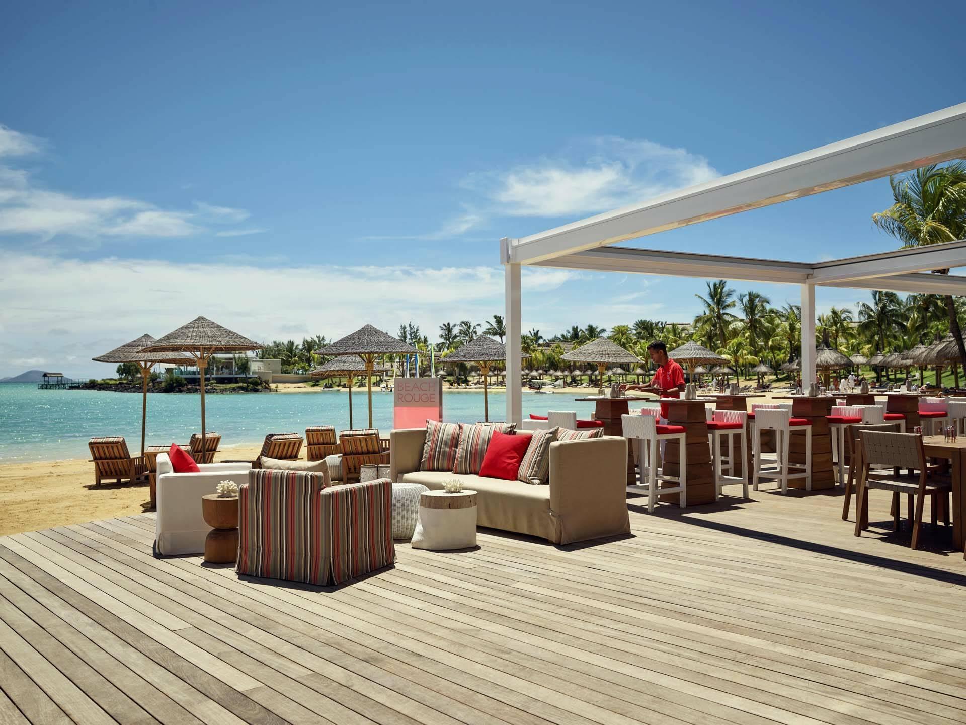 Ile Maurice Lux Grand Gaube Restaurant Beachrouge
