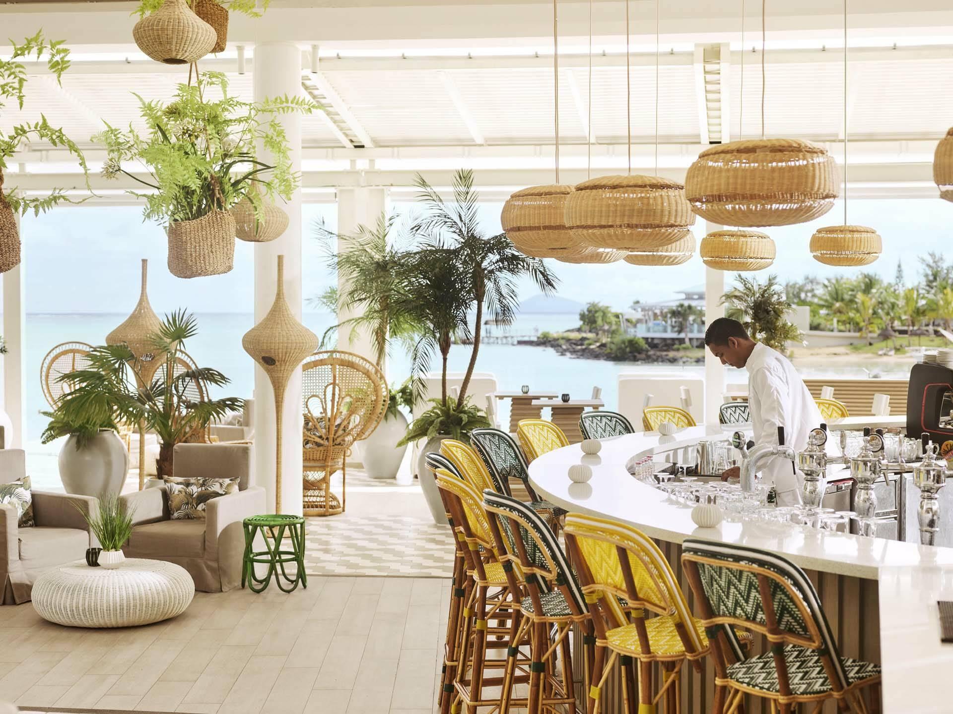 Ile Maurice Lux Grand Gaube Restaurant Palmcourt