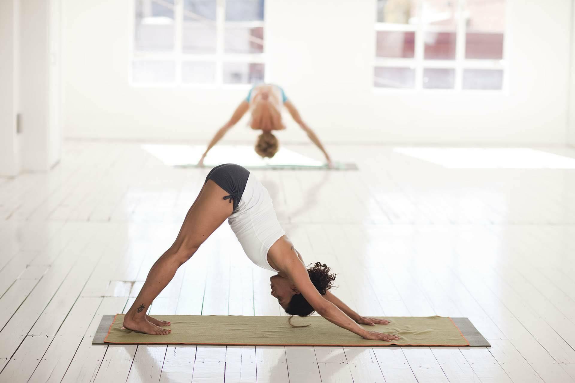 Stage Yoga Agistri Adho mukha svanasana