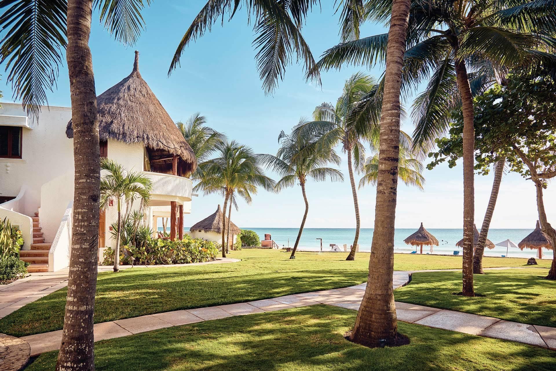 Belmond Maroma Mexique Riviera Maya Jardins