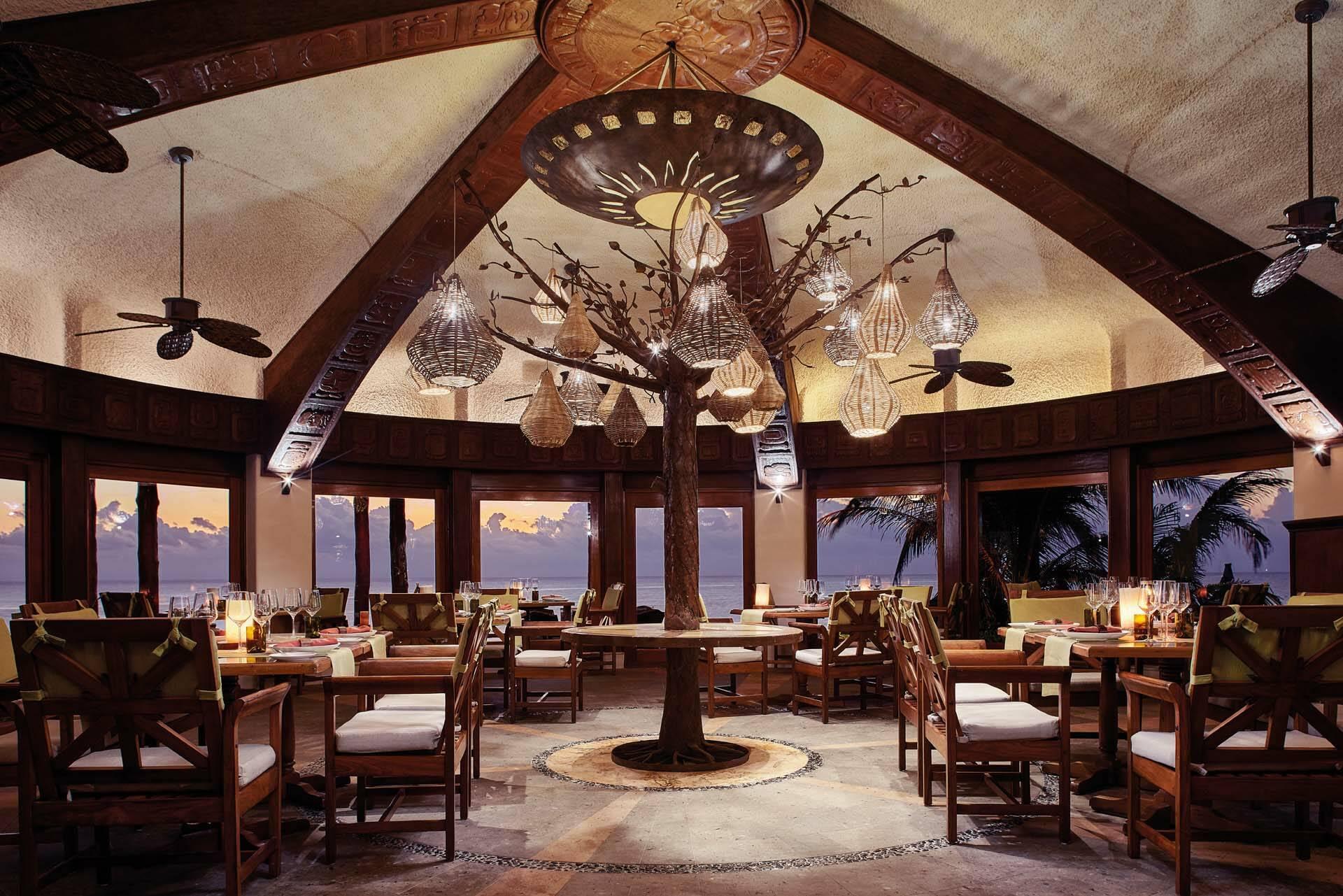 Belmond Maroma Mexique Riviera Maya Restaurant