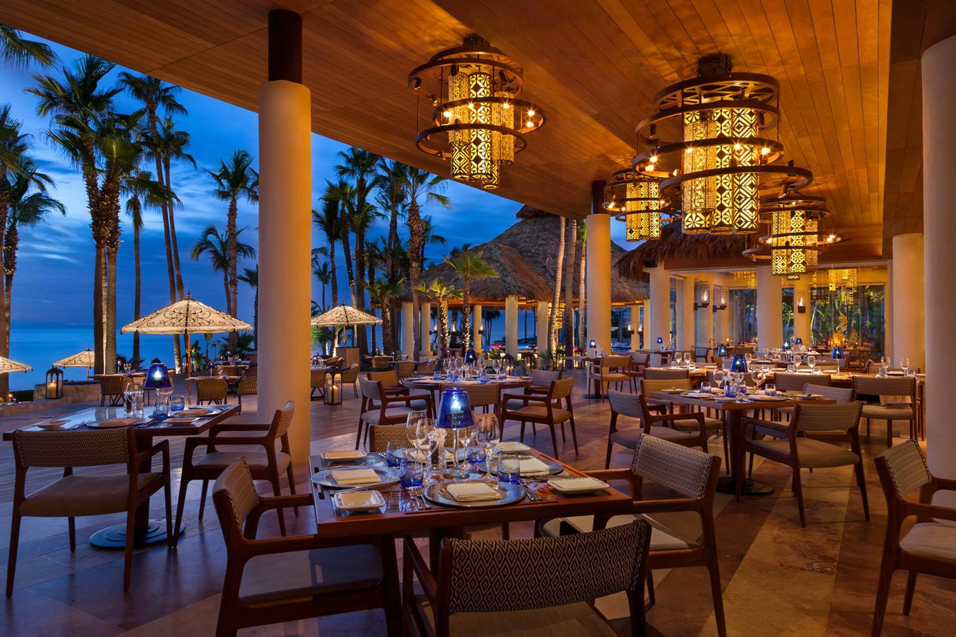 OneAndOnly Palmilla LosCabos Mexique AguaByLarbi Restaurant
