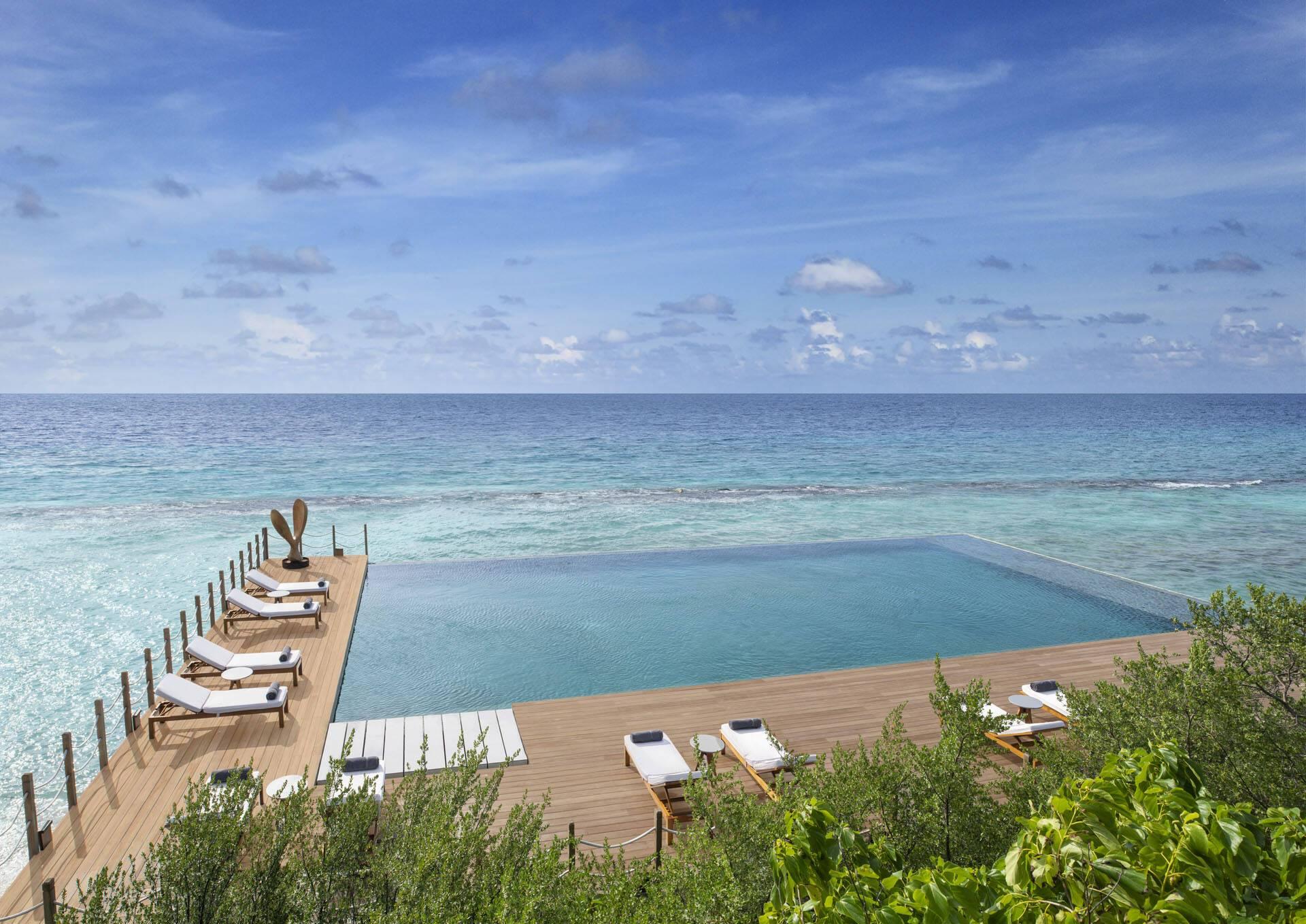 JW Marriott Maldives Piscine
