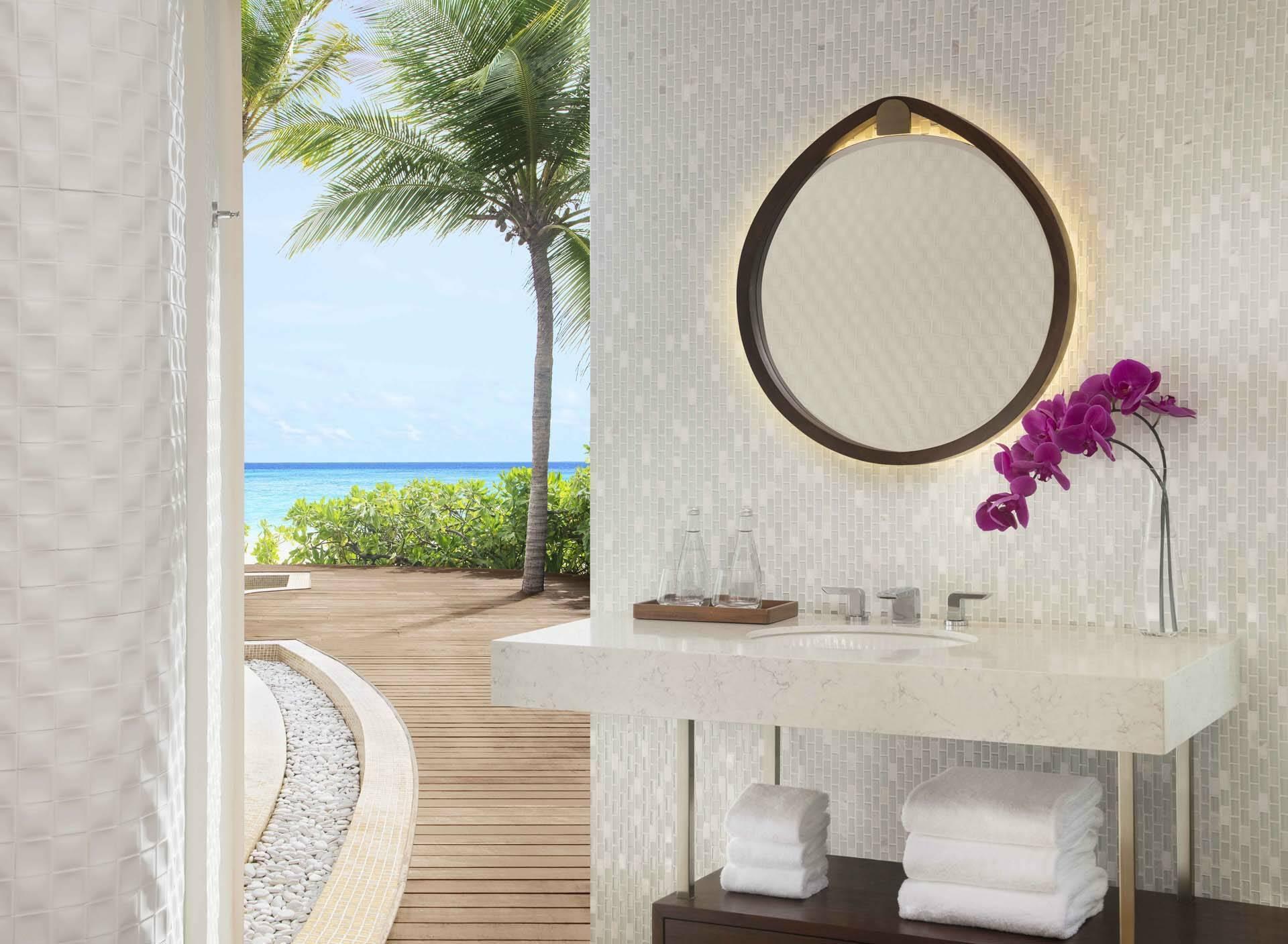 JW Marriott Maldives bathroom