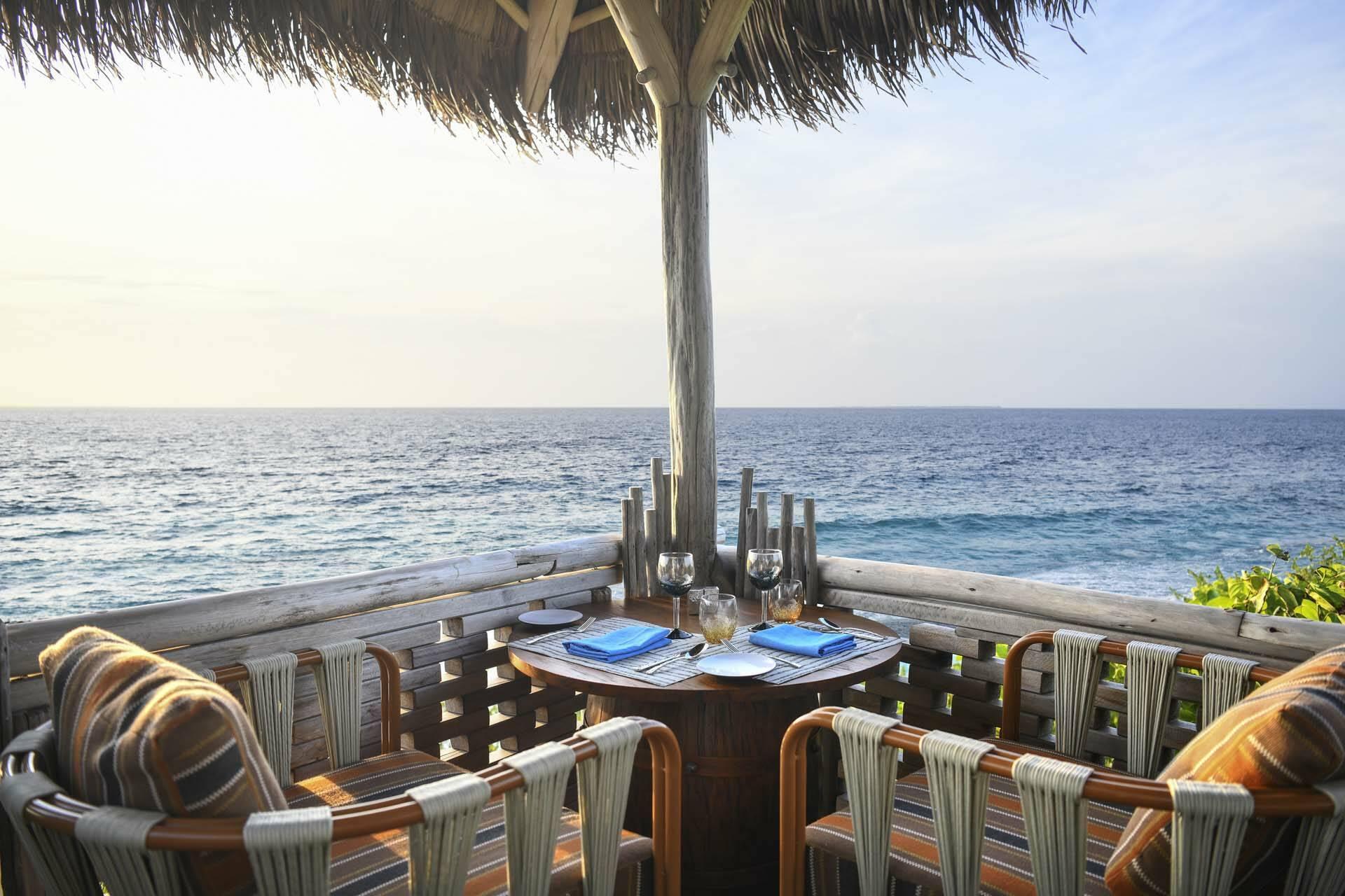JW Marriott Maldives spot restaurant
