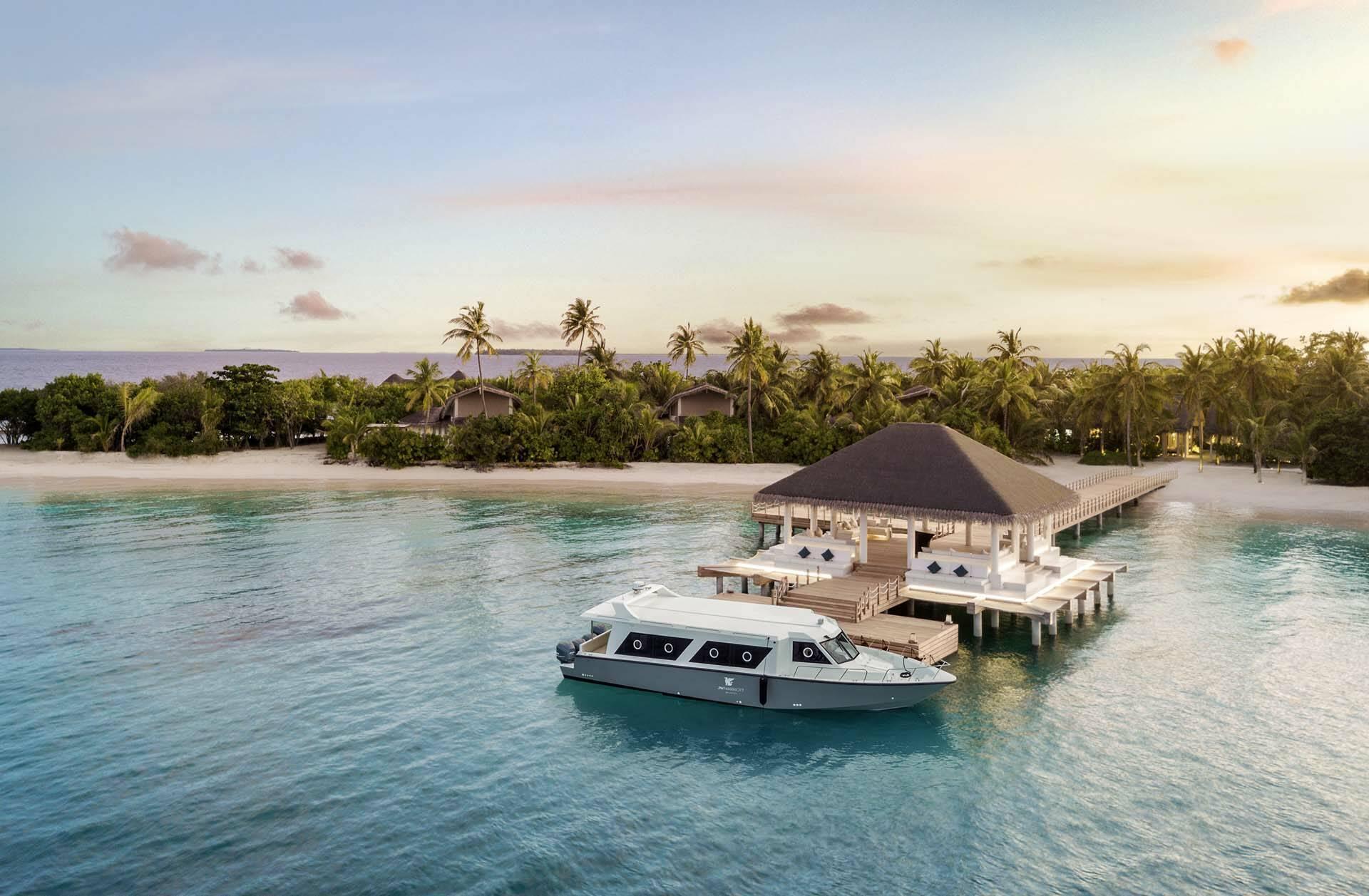 JW Marriott Maldives view