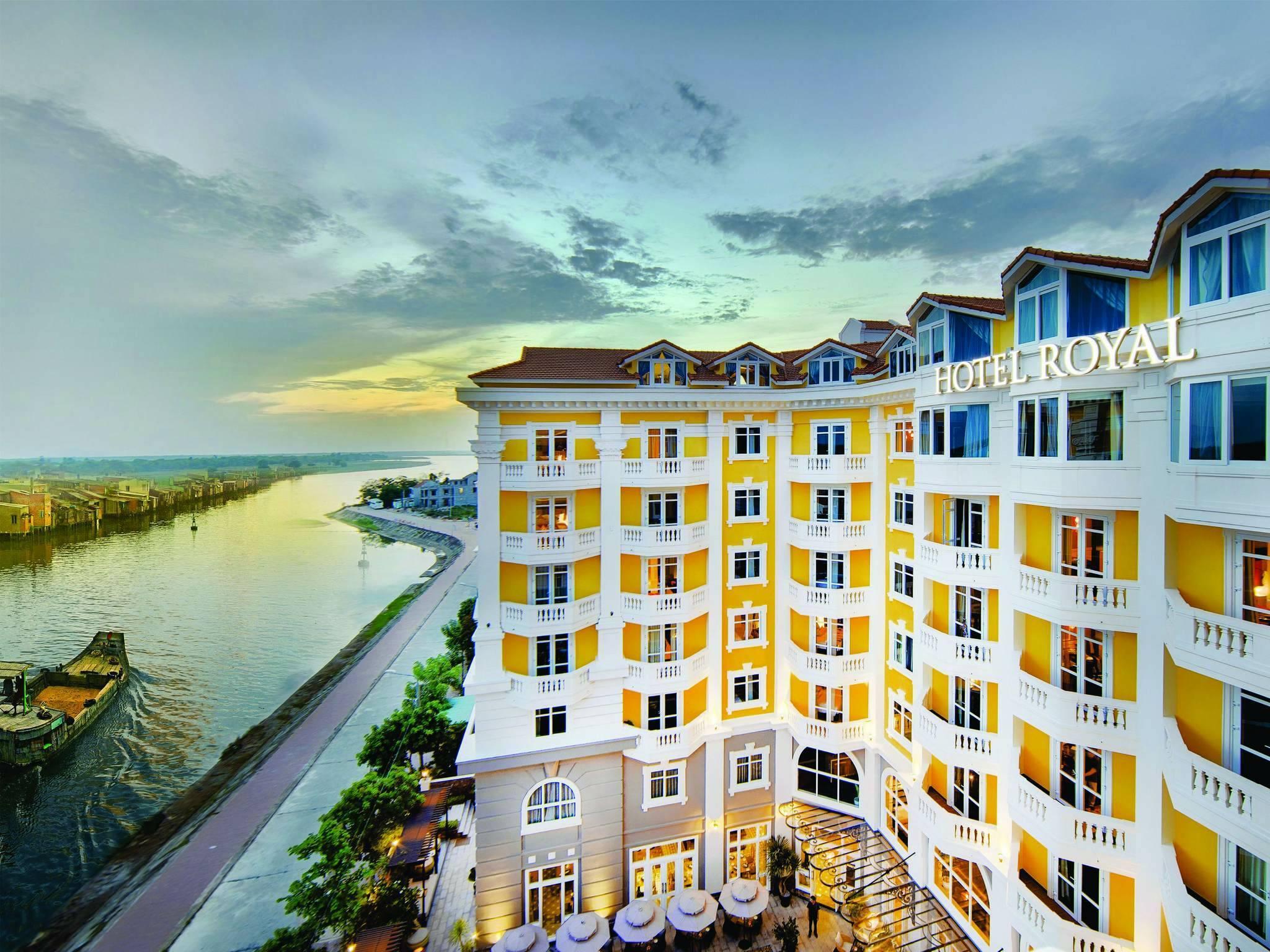 Vietnam Hotel Royal Facade Hoi An