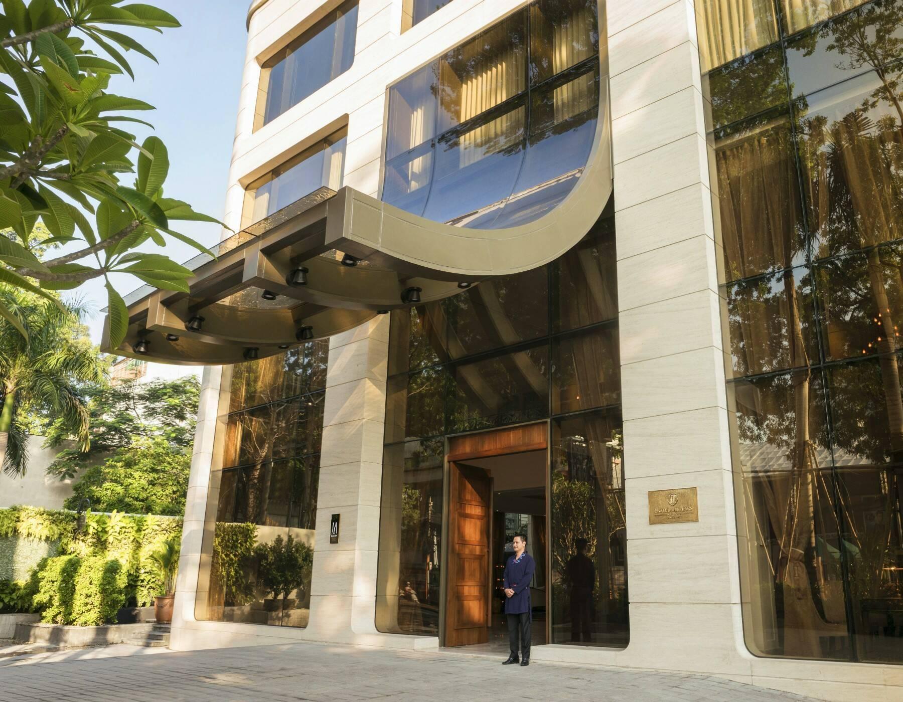 Vietnam Hotel des Arts Facade Ho Chi Minh