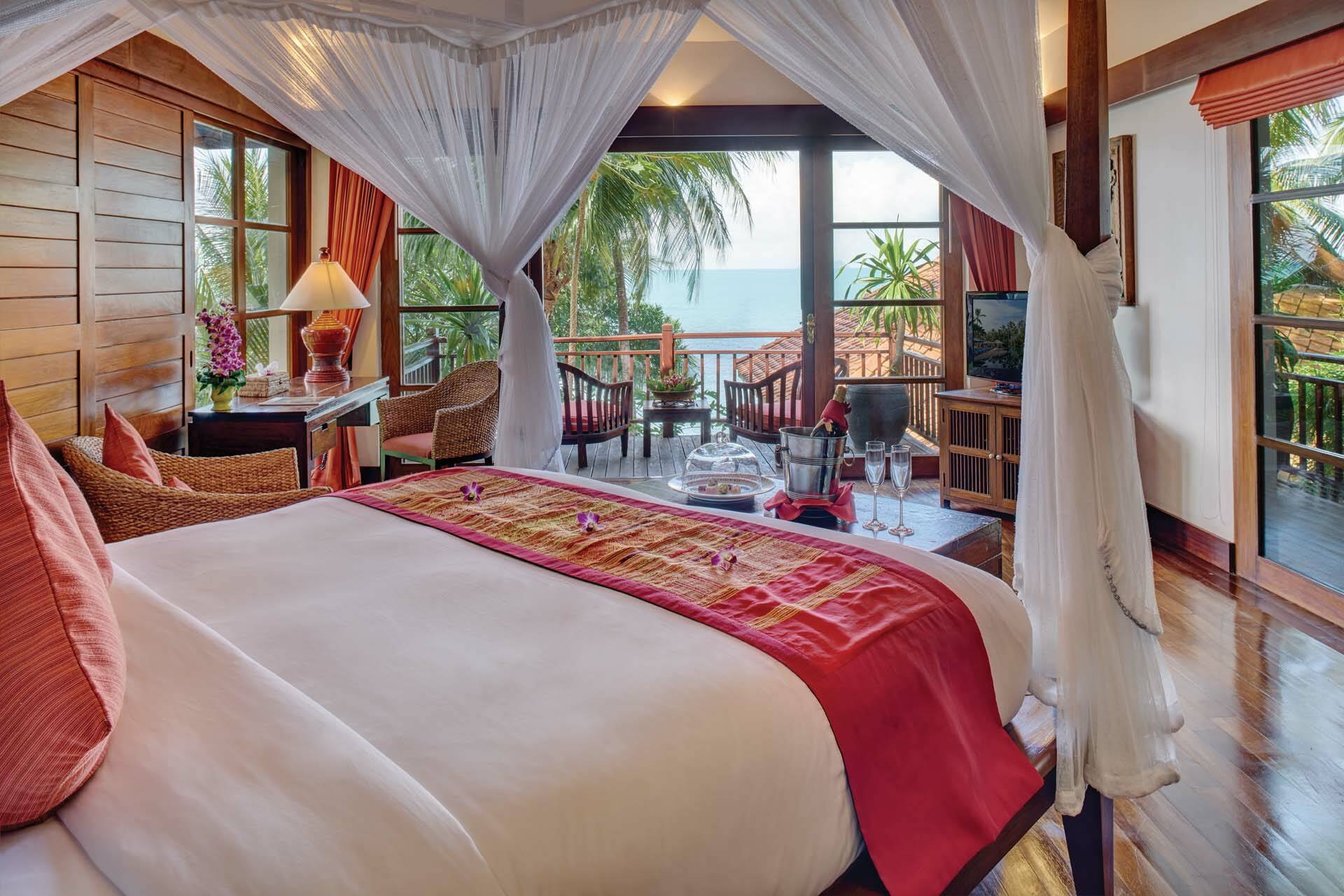 Thailande Koh Samui Napasai Villa Chambre