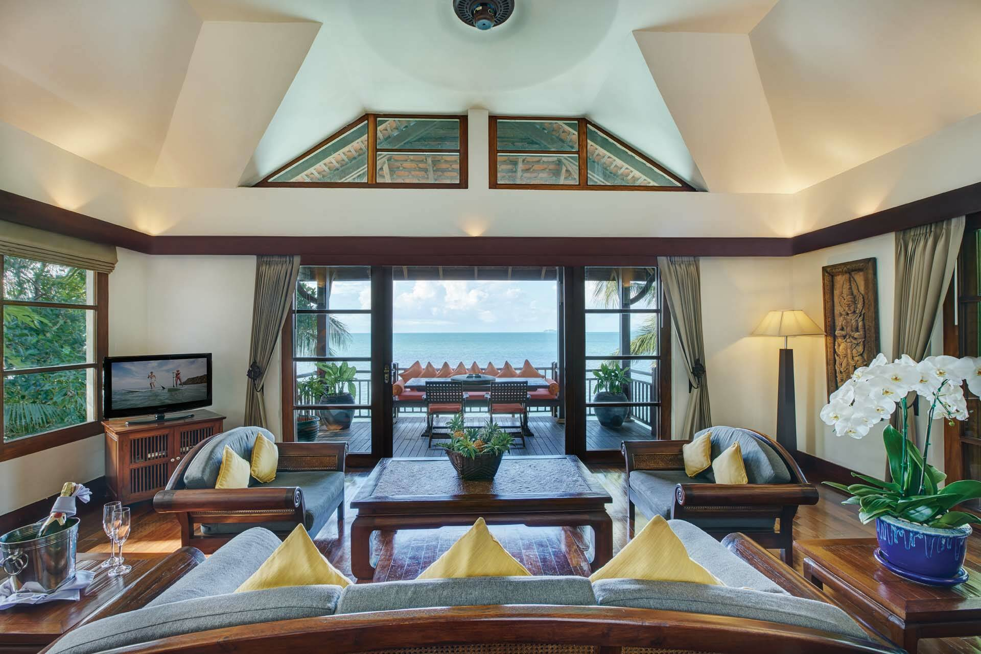 Thailande Koh Samui Napasai Villa Salon
