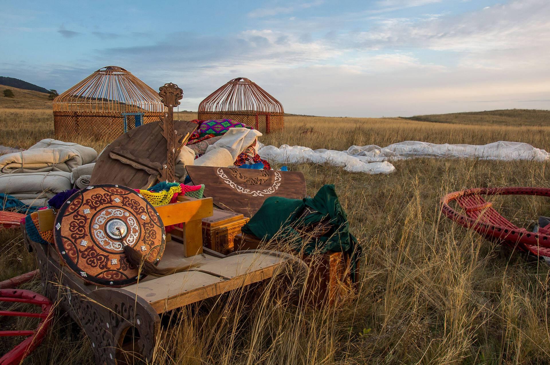 Circuit Ouzbekistan yurt sokolkz