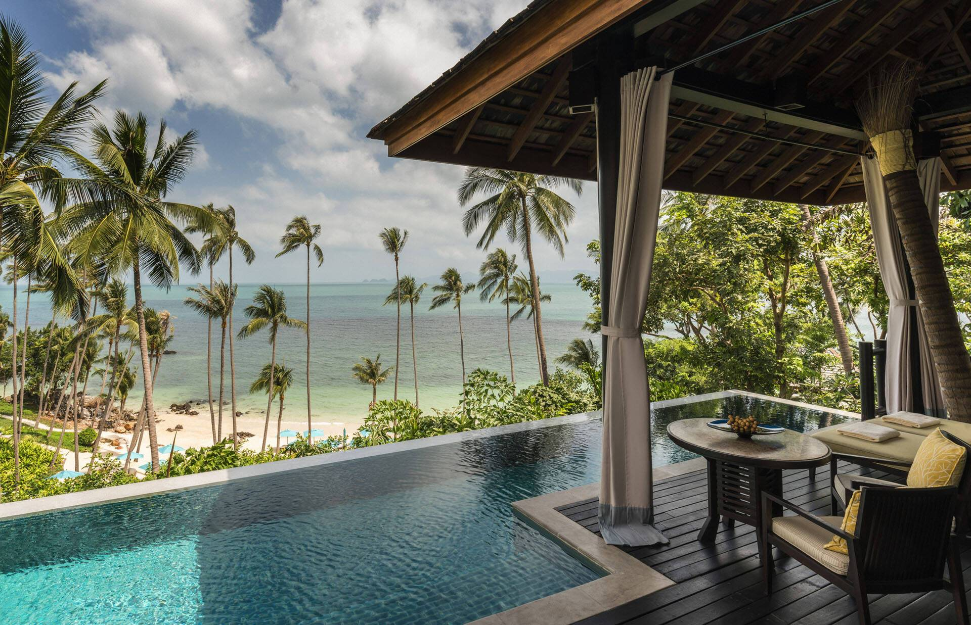 Four Seasons Koh Samui Piscine