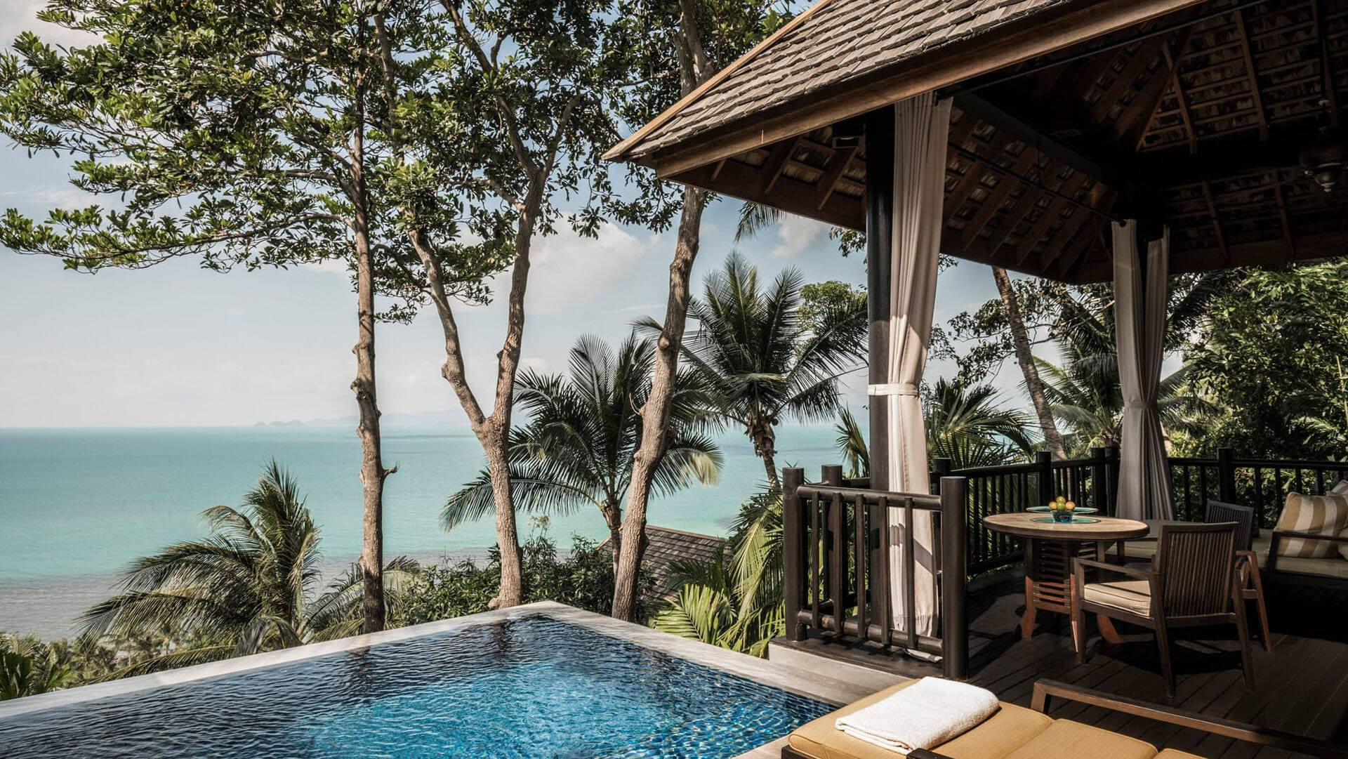 Four Seasons Koh Samui Piscine Privee