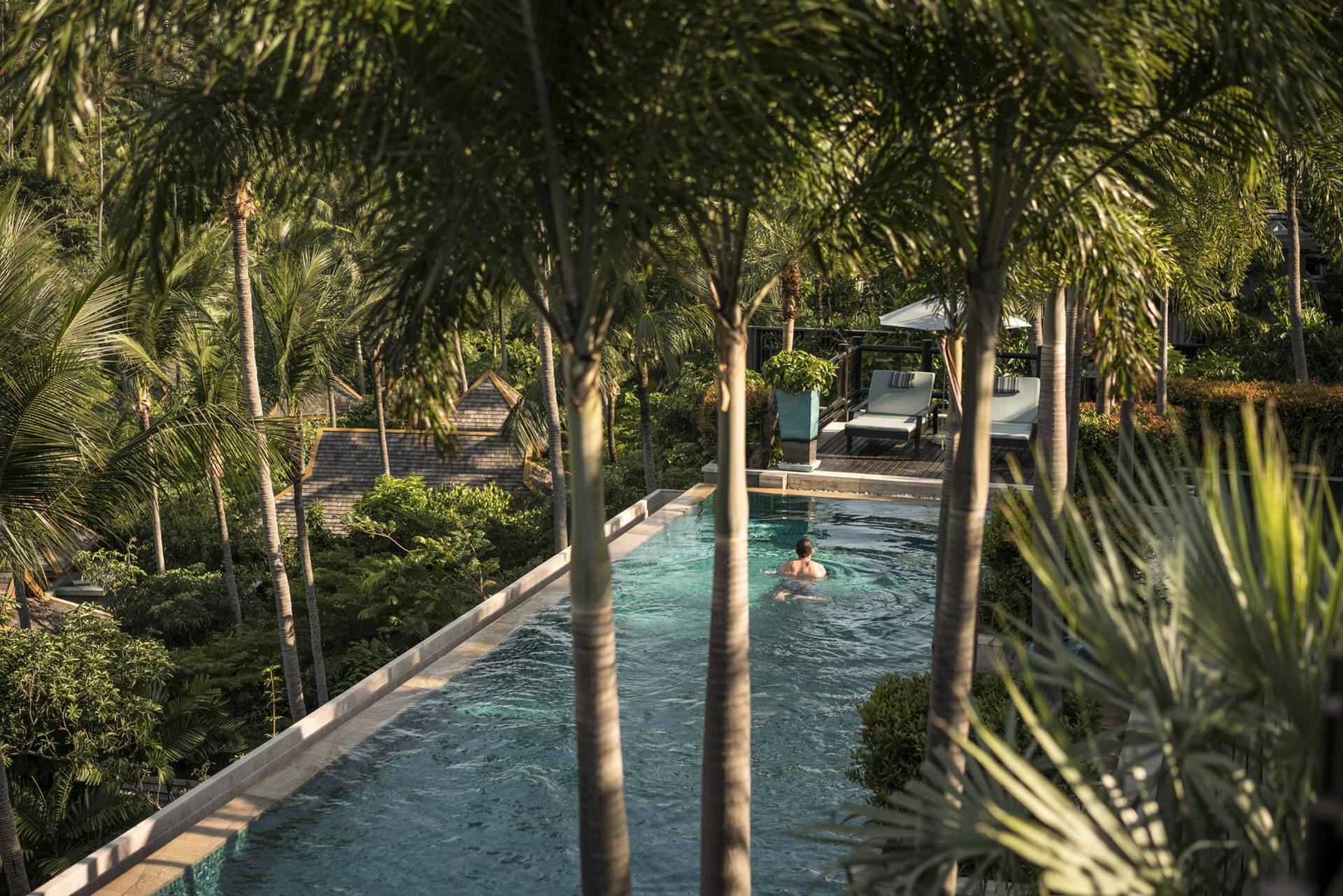 Four Seasons Koh Samui Thailande Piscine