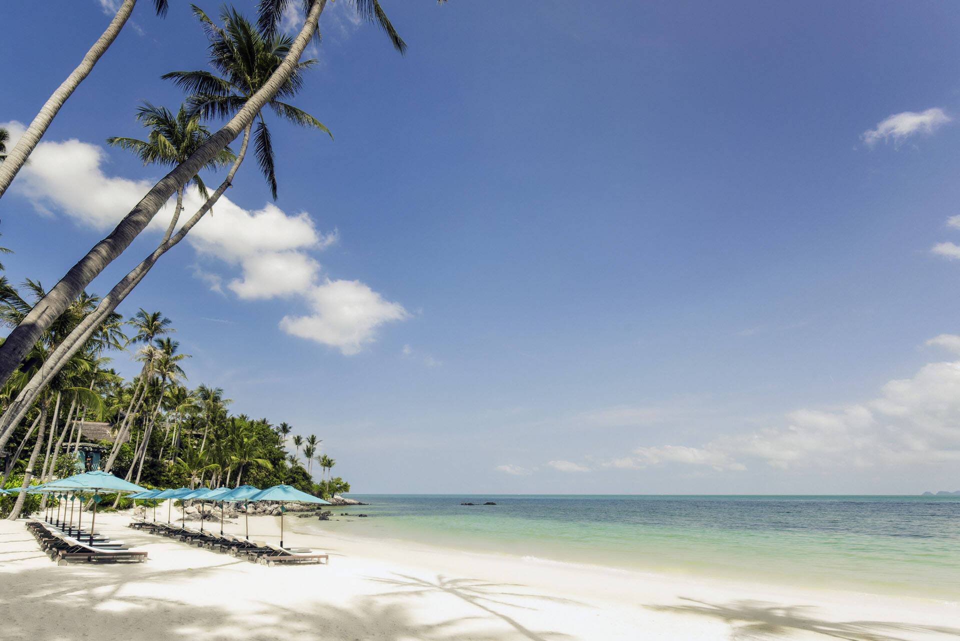 Four Seasons Koh Samui Thailande Plage