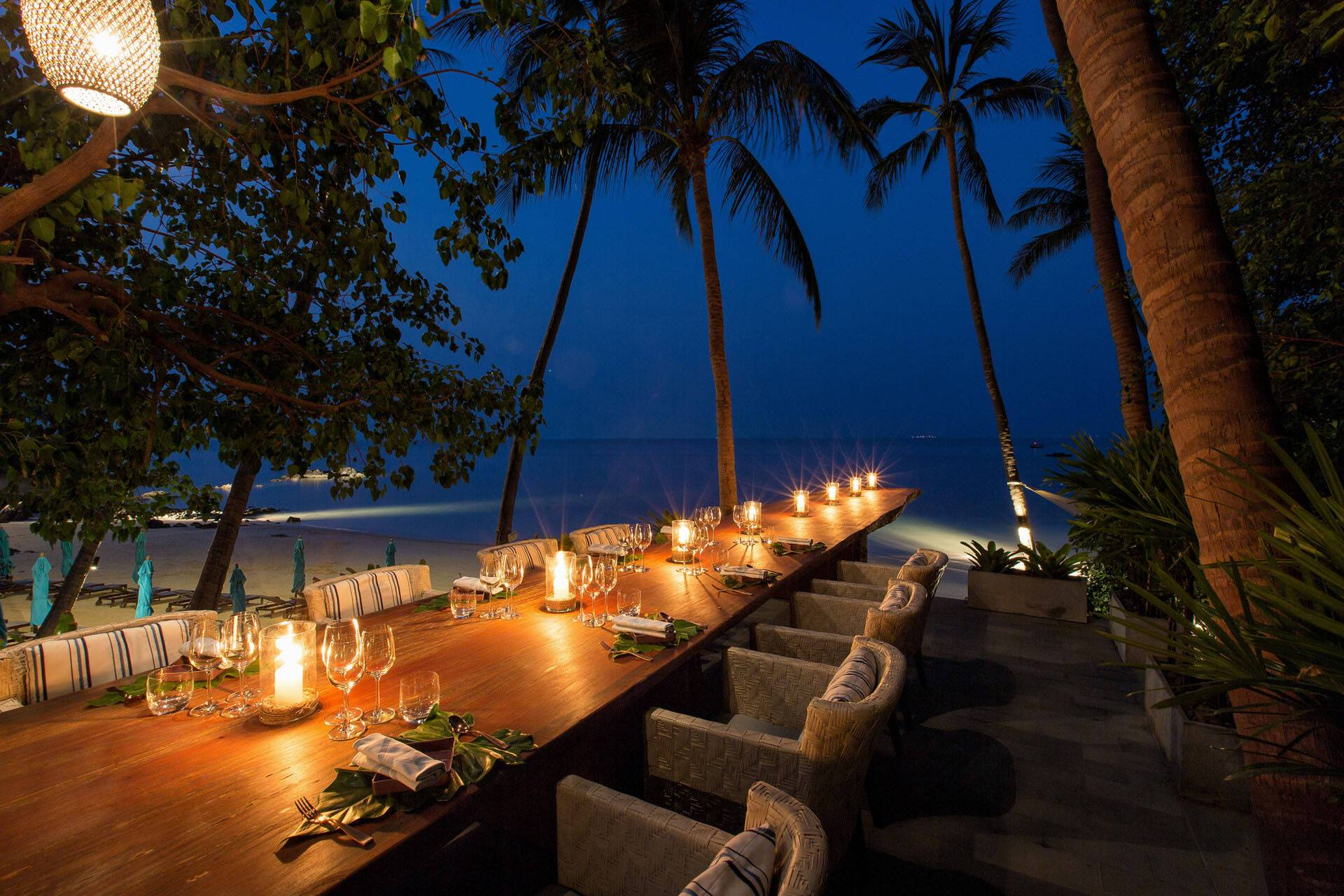 Four Seasons Koh Samui Thailande Soiree