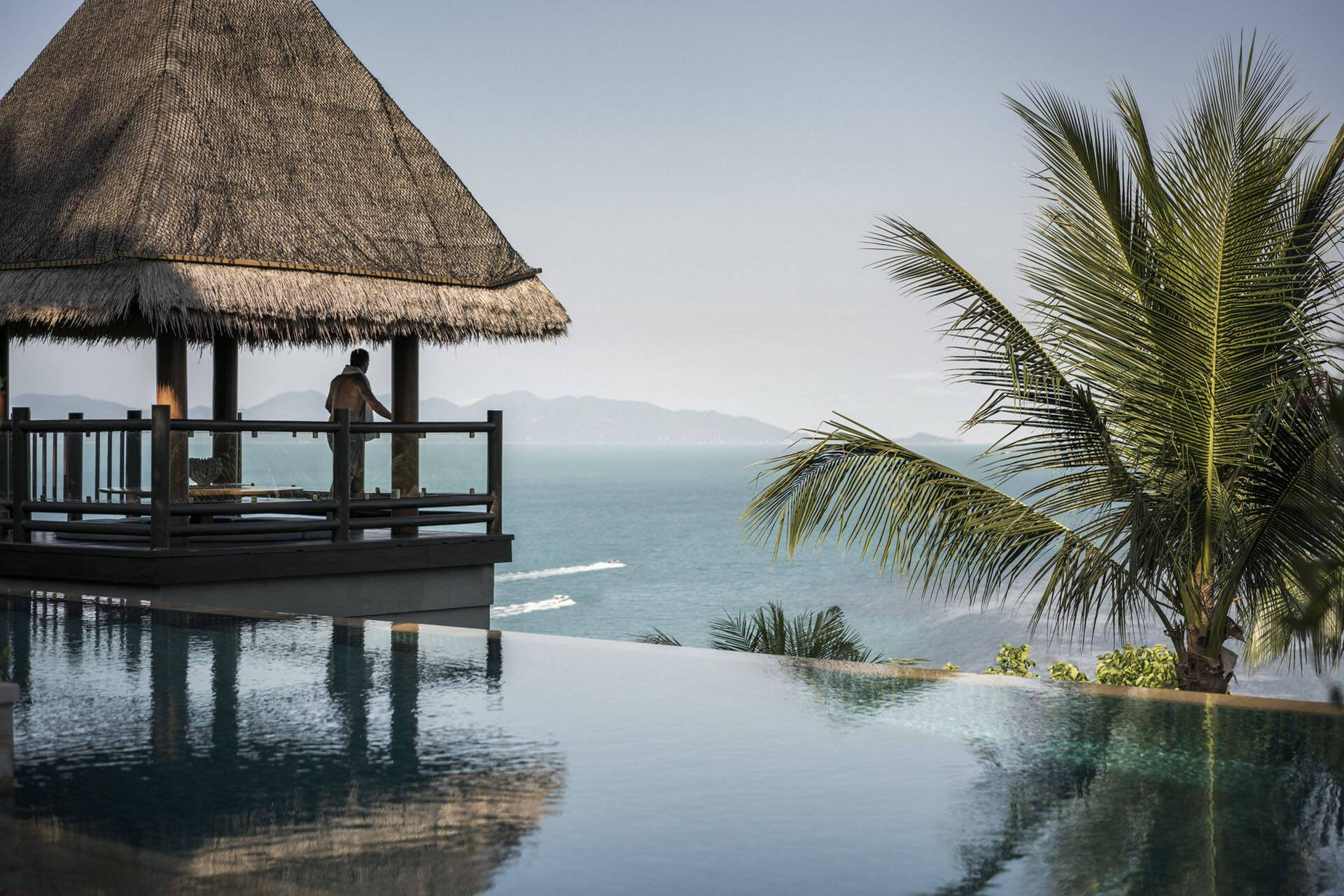 Four Seasons Koh Samui Thailande vue