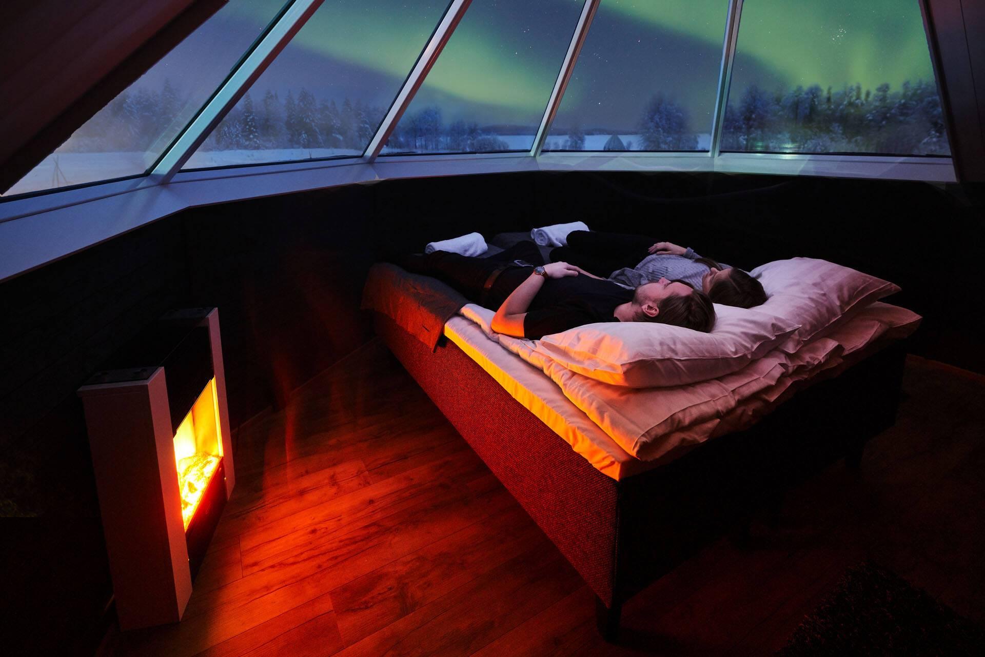 Apukka Resort Laponie Aurora Cabin feel
