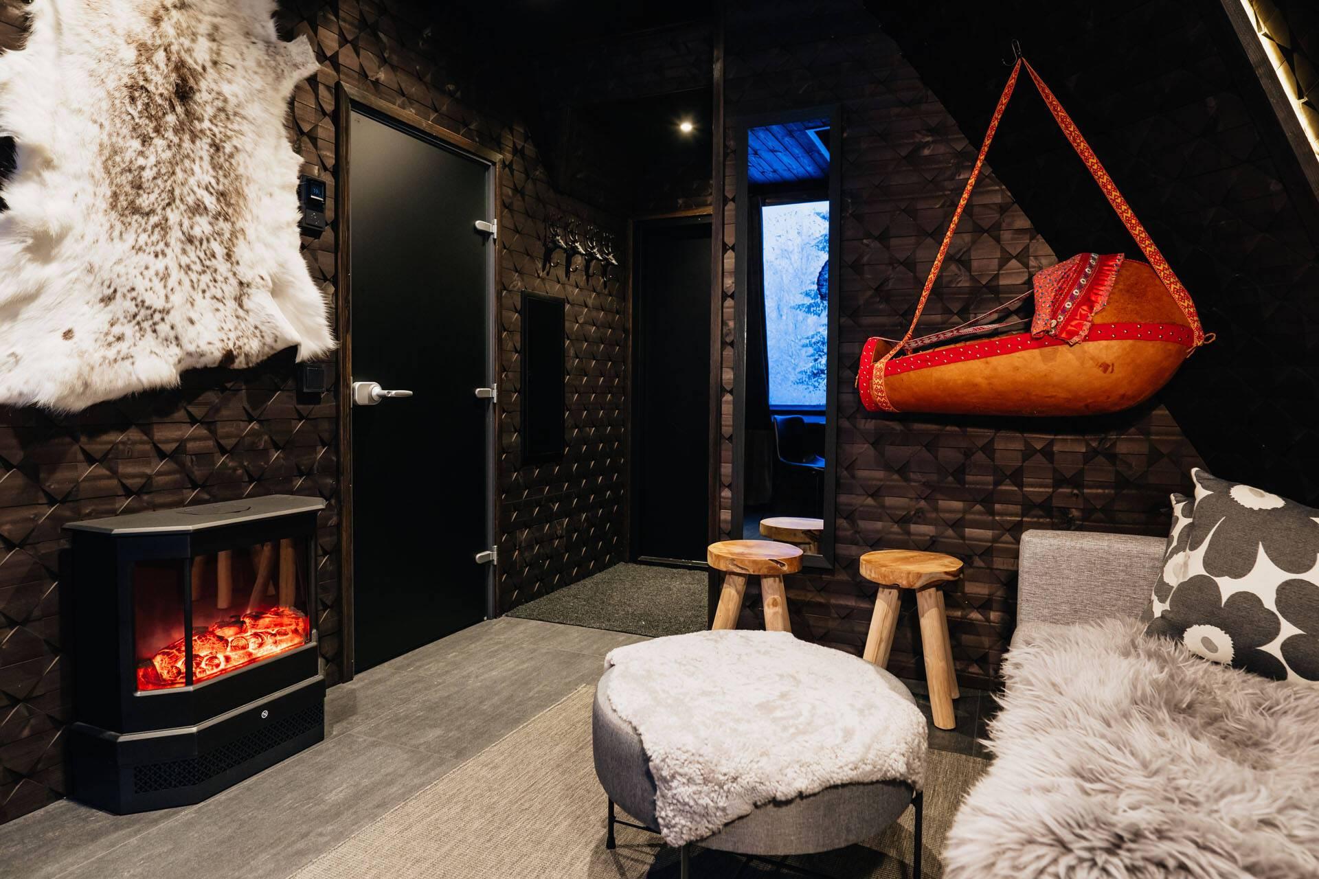 Apukka Resort Laponie Komsio Interieur