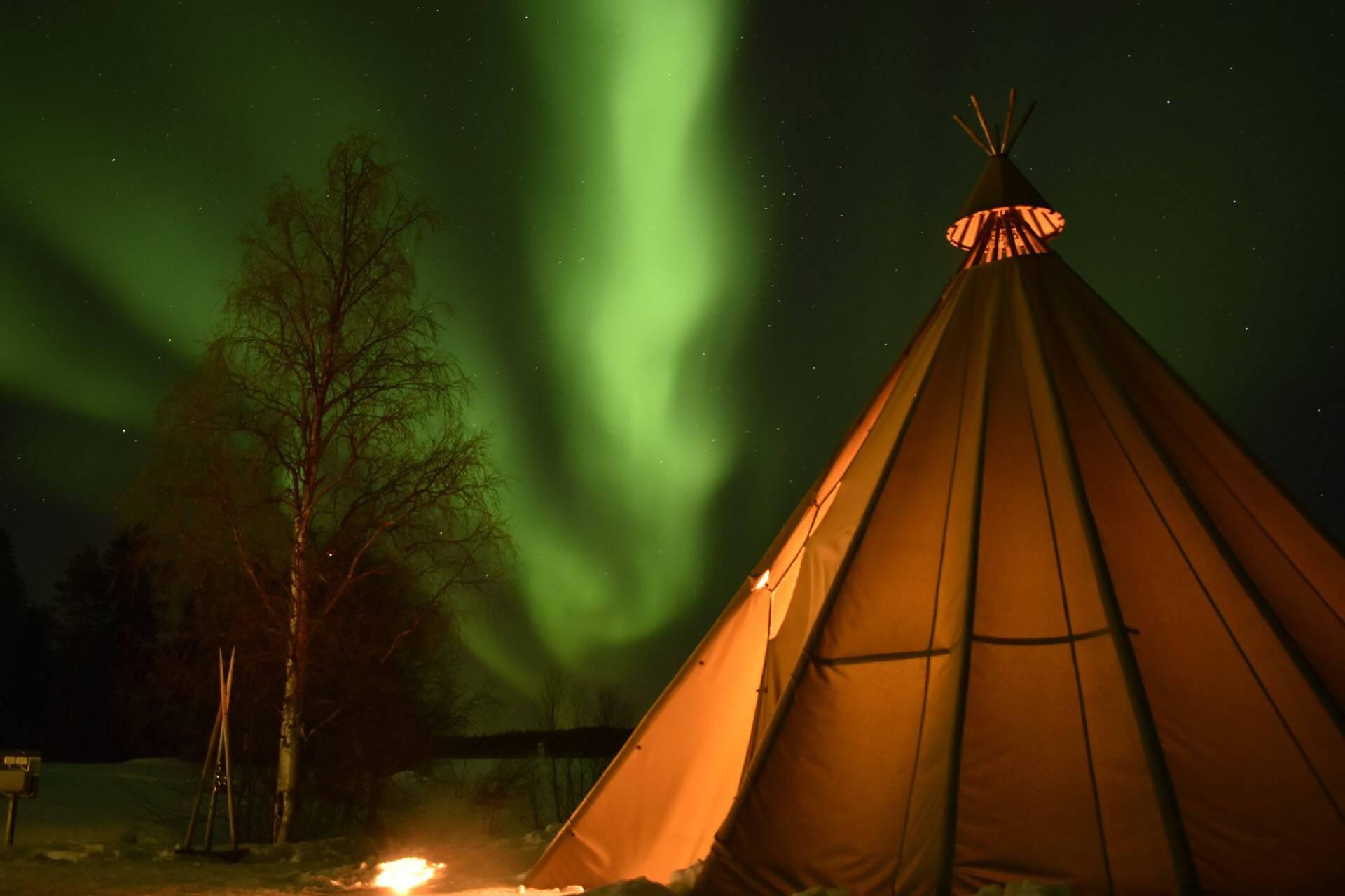 Apukka Resort Rovaniemi Finlande Aurora Experience