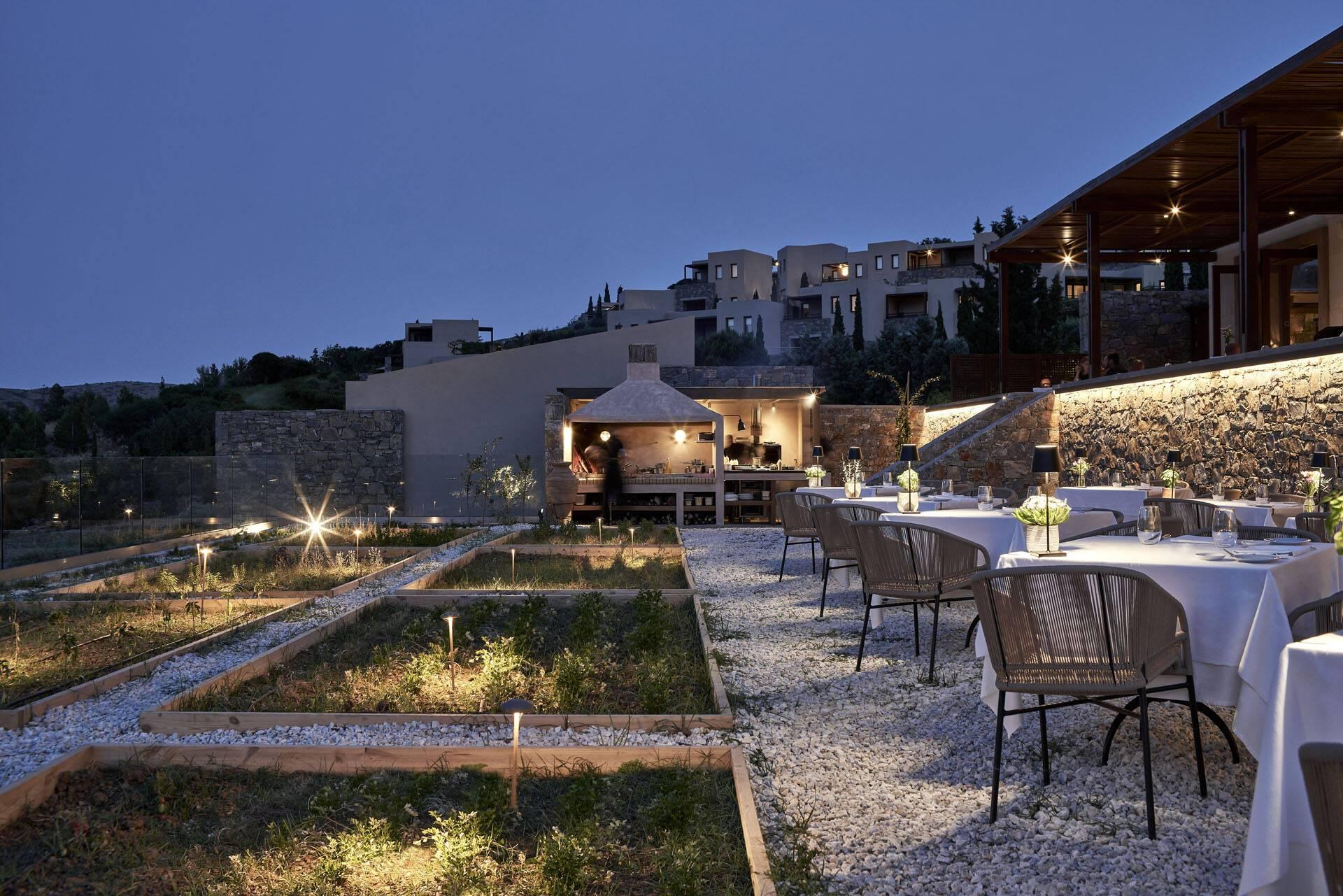 Blue Palace Crete Restaurant Anthos
