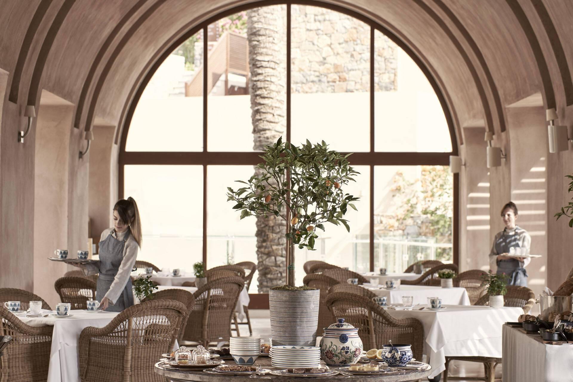 Blue Palace Crete Restaurant Heaven