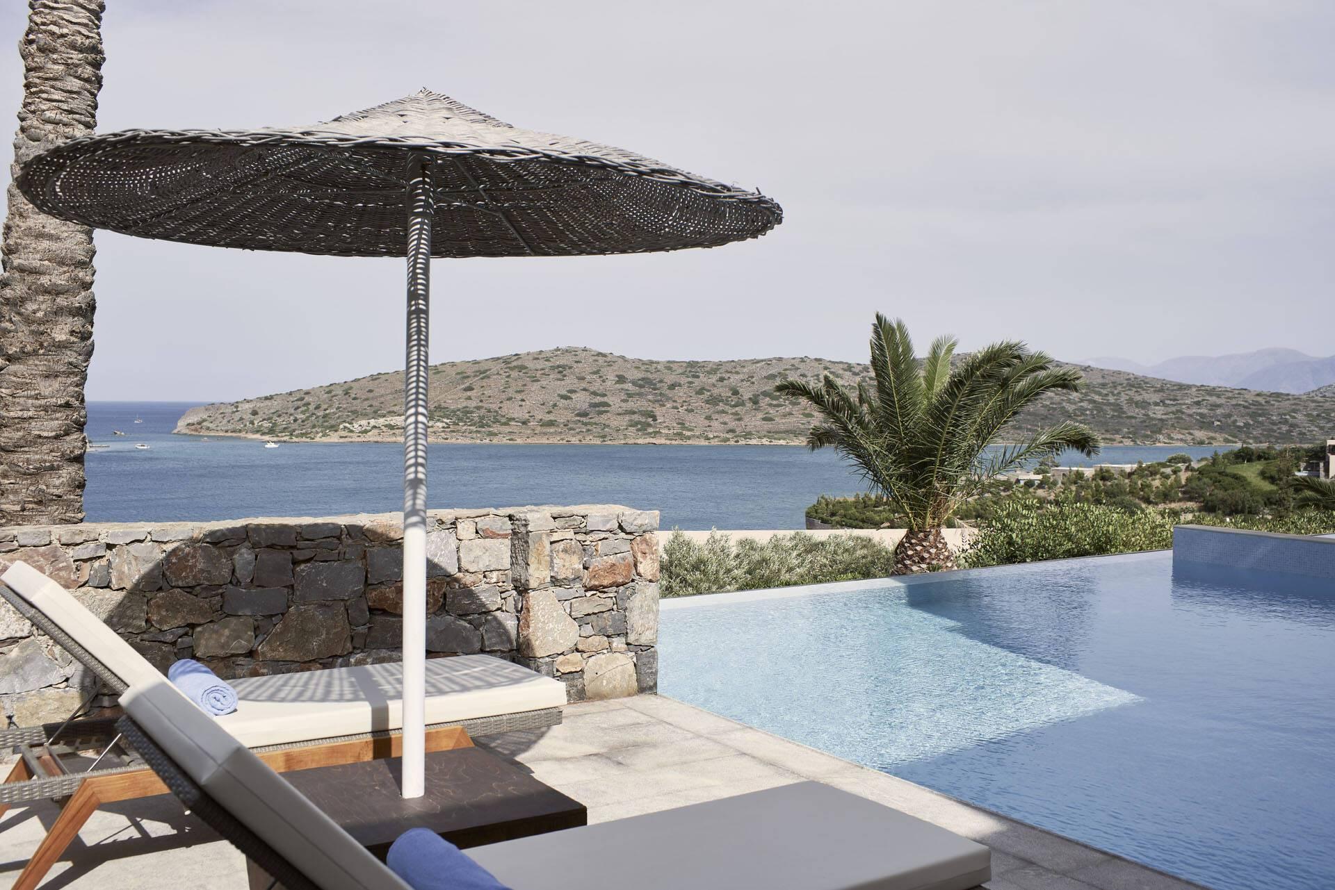 Blue Palace Crete Suite Piscine
