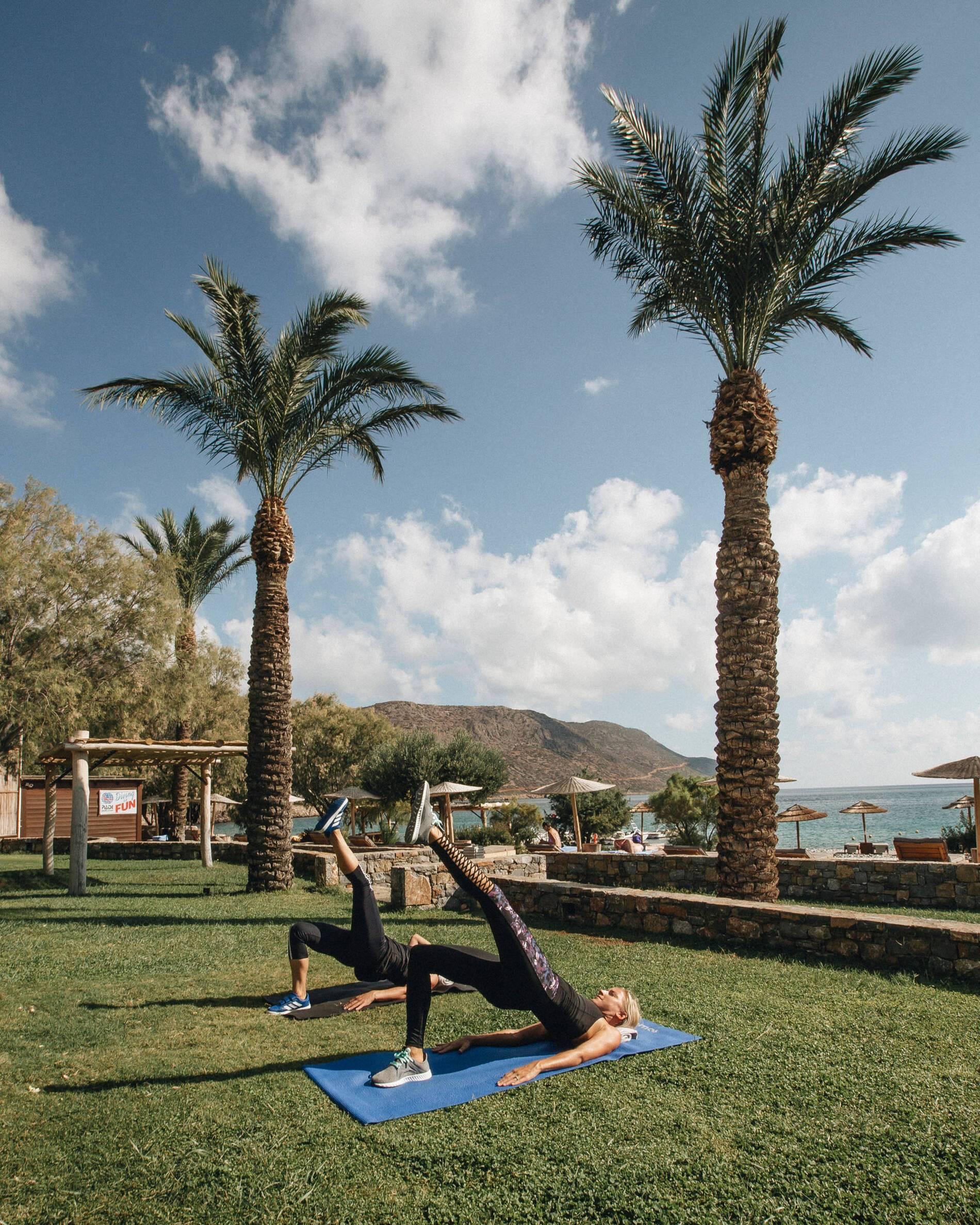 Blue Palace Crete Yoga