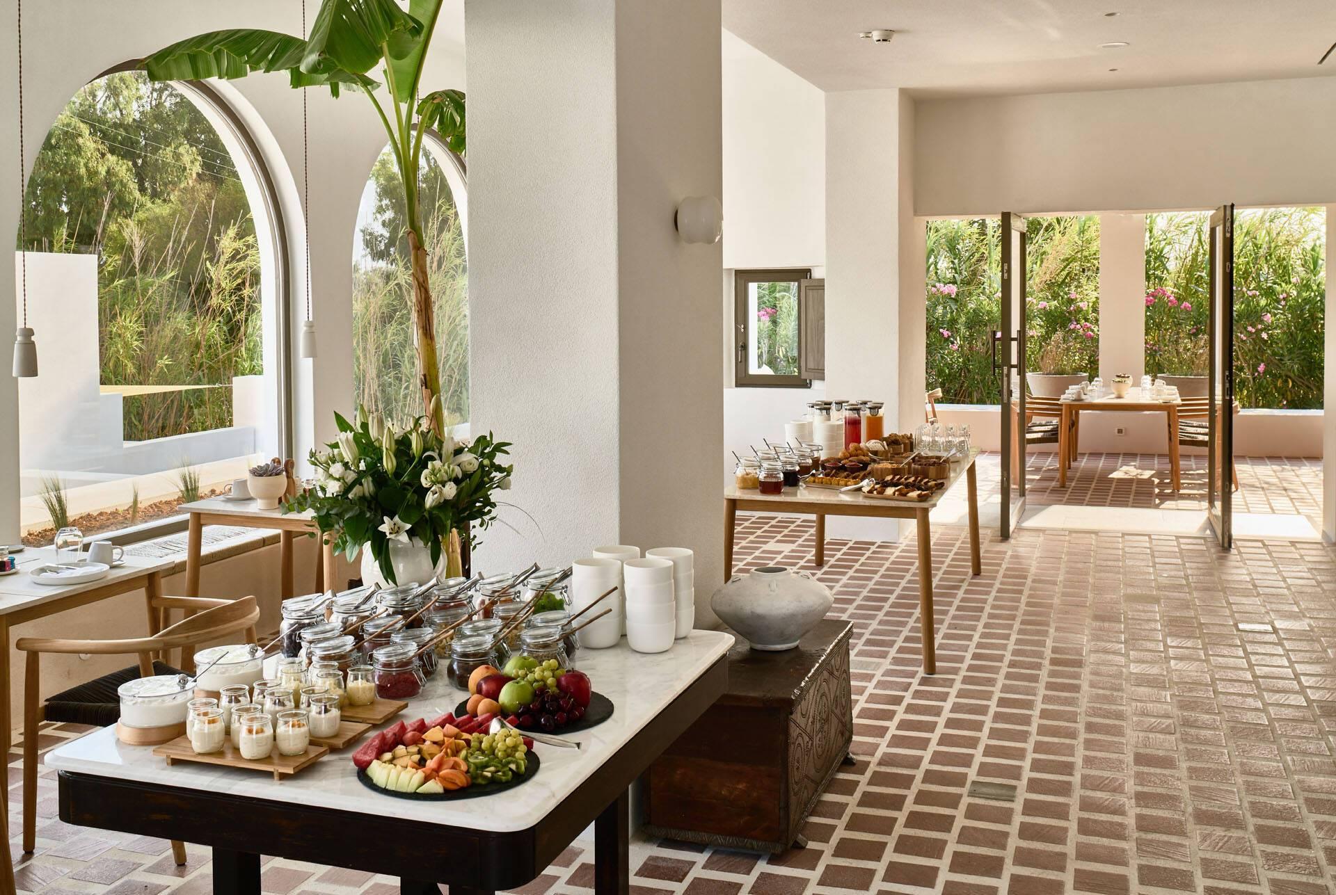 Sejour grece paros parilio Breakfast