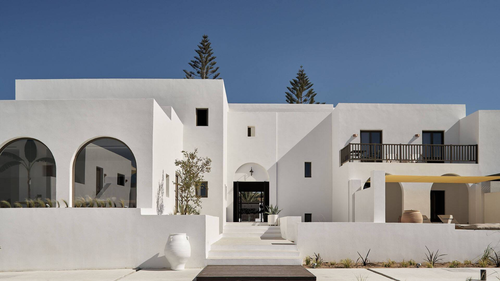 Sejour grece paros parilio architecture
