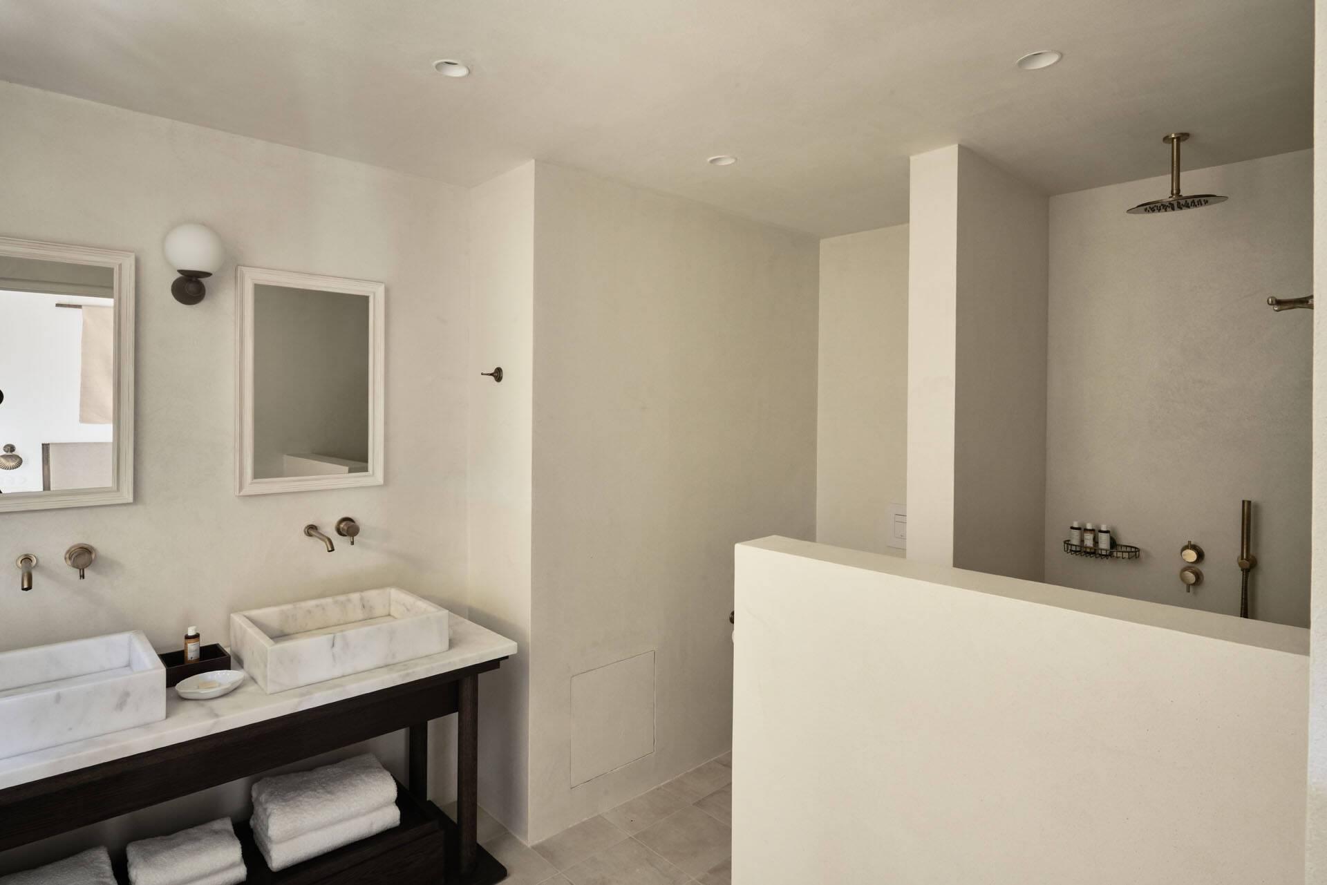 Sejour grece paros parilio aurora suite salle de bain