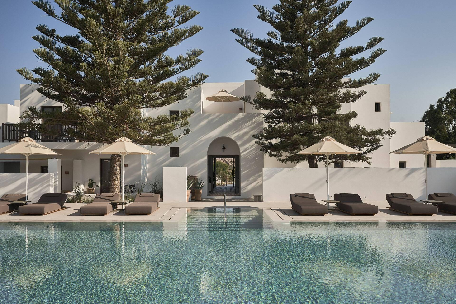 Sejour grece paros parilio piscine
