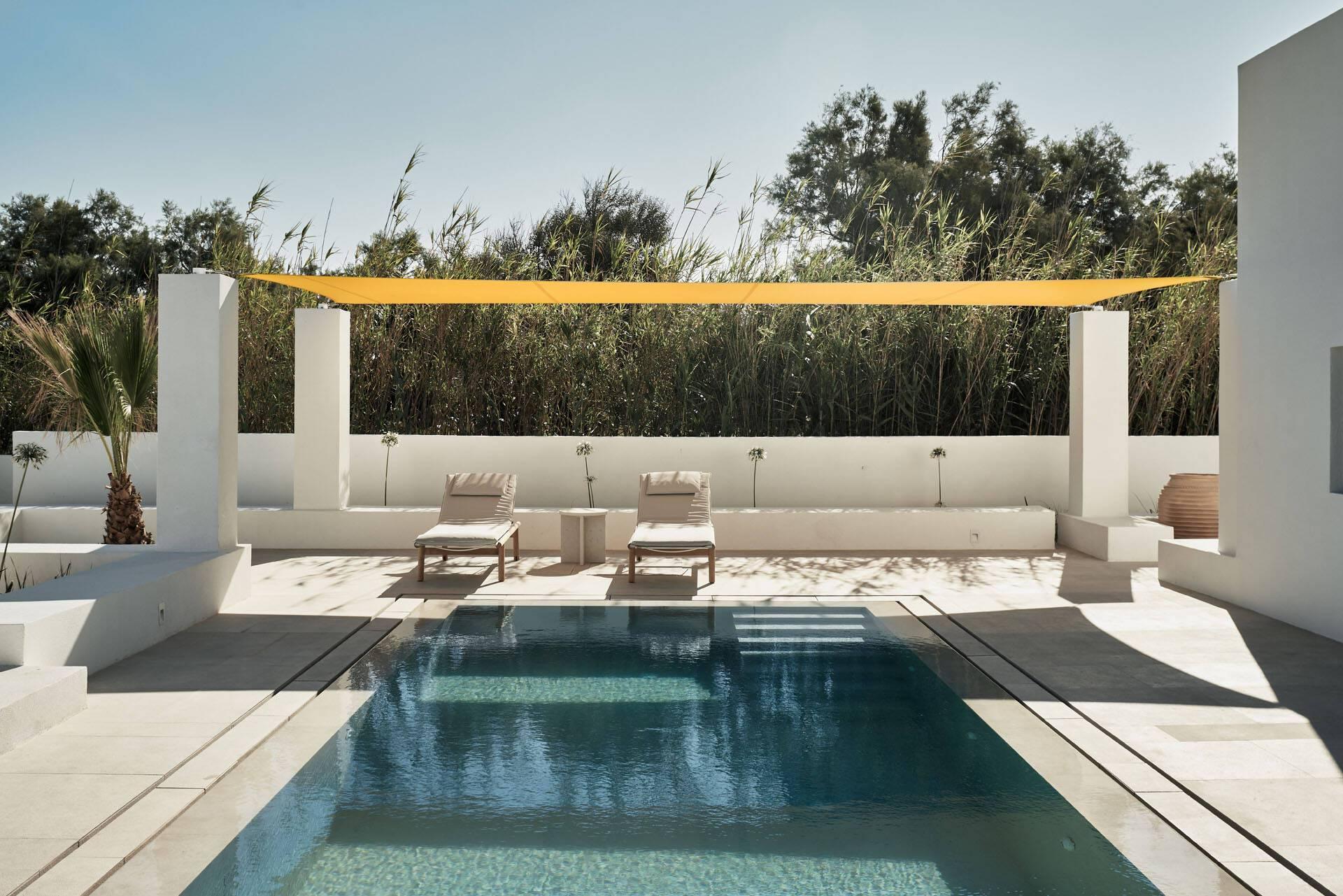 Sejour grece paros parilio sun suite piscine