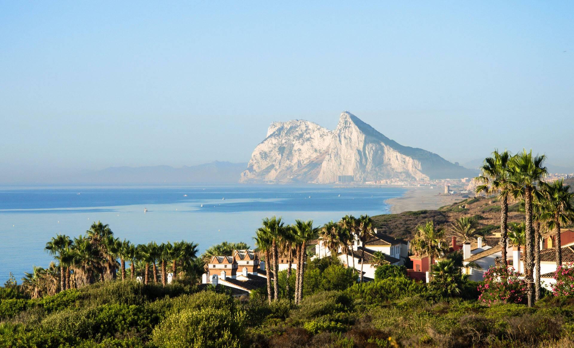 Ikos Andalousia Espagne Vue Gibraltar