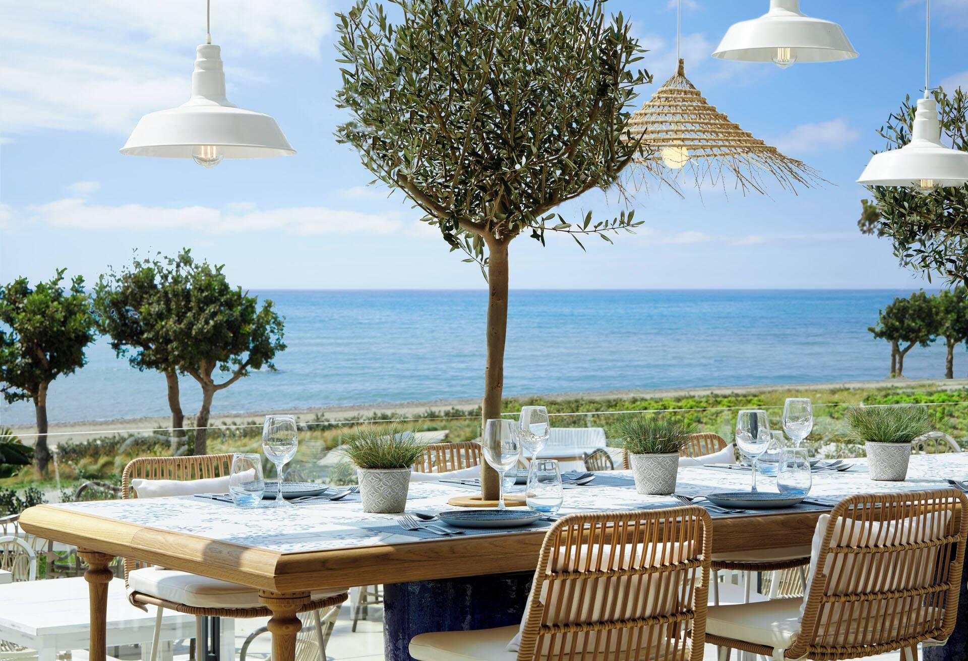 Ikos Andalusia Espagne Ouzo Restaurant Terrasse